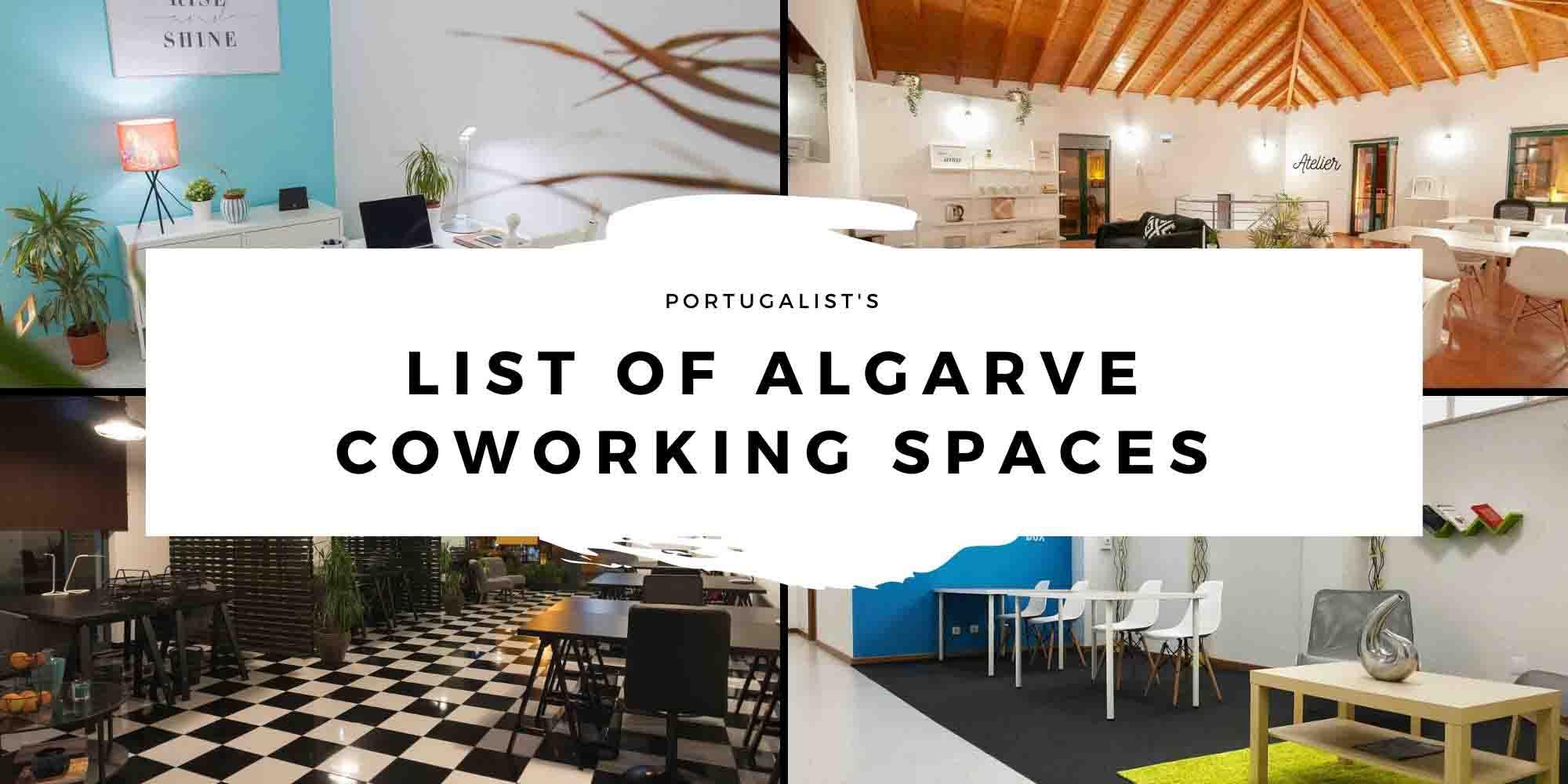 Algarve Coworking Spaces header