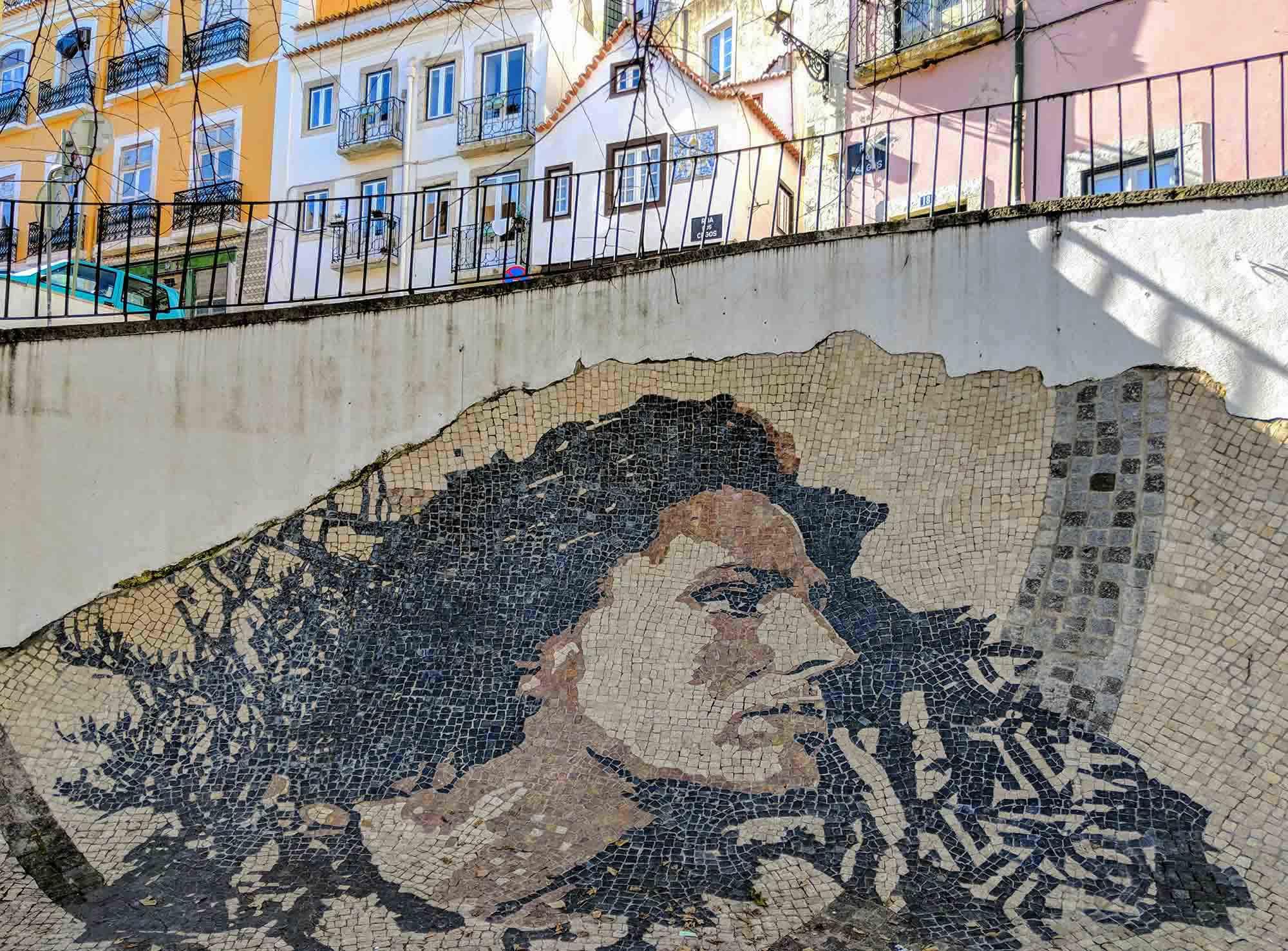 Amalia Rodrigues Mural