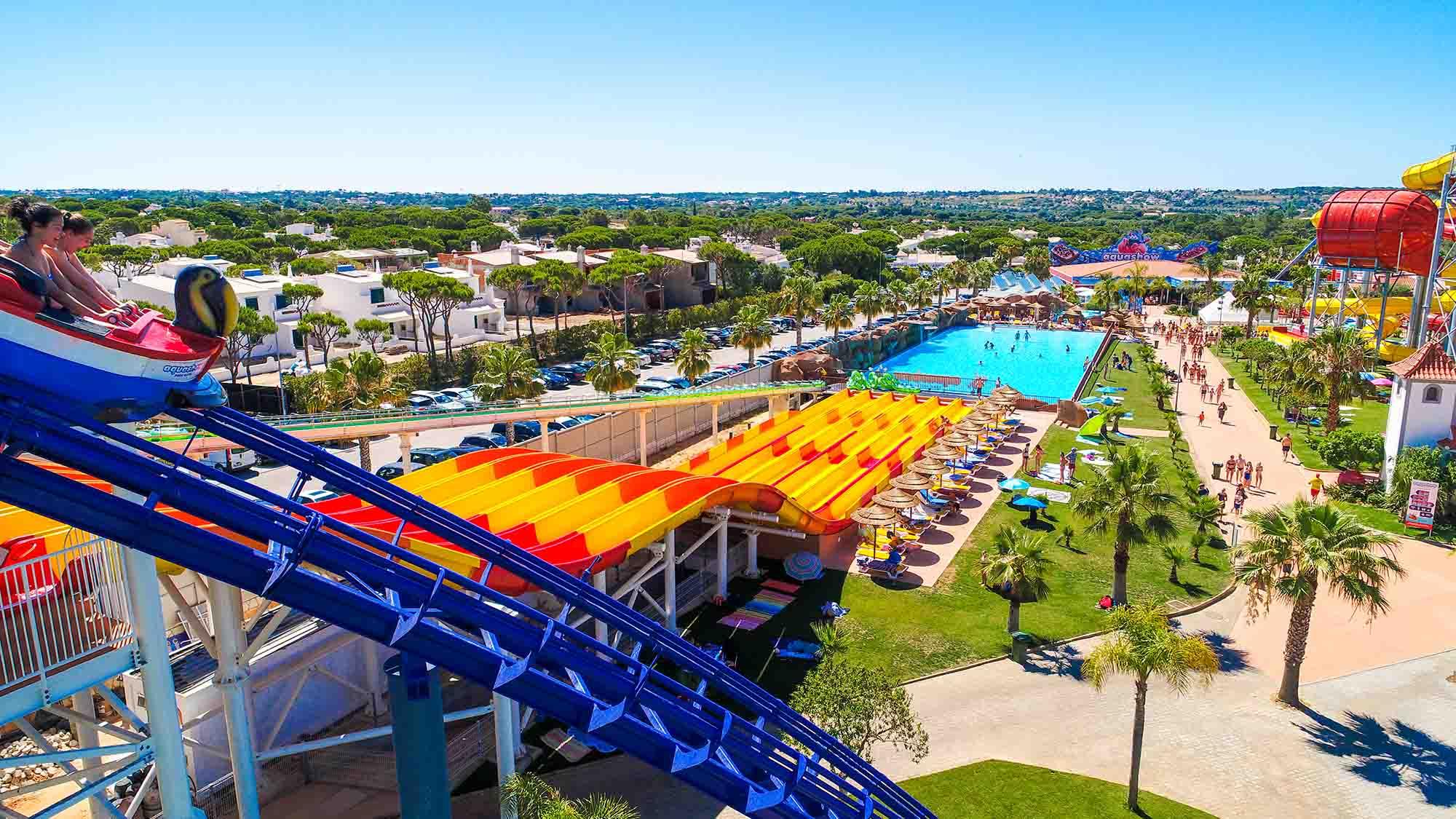 Slides at Aquashow Park