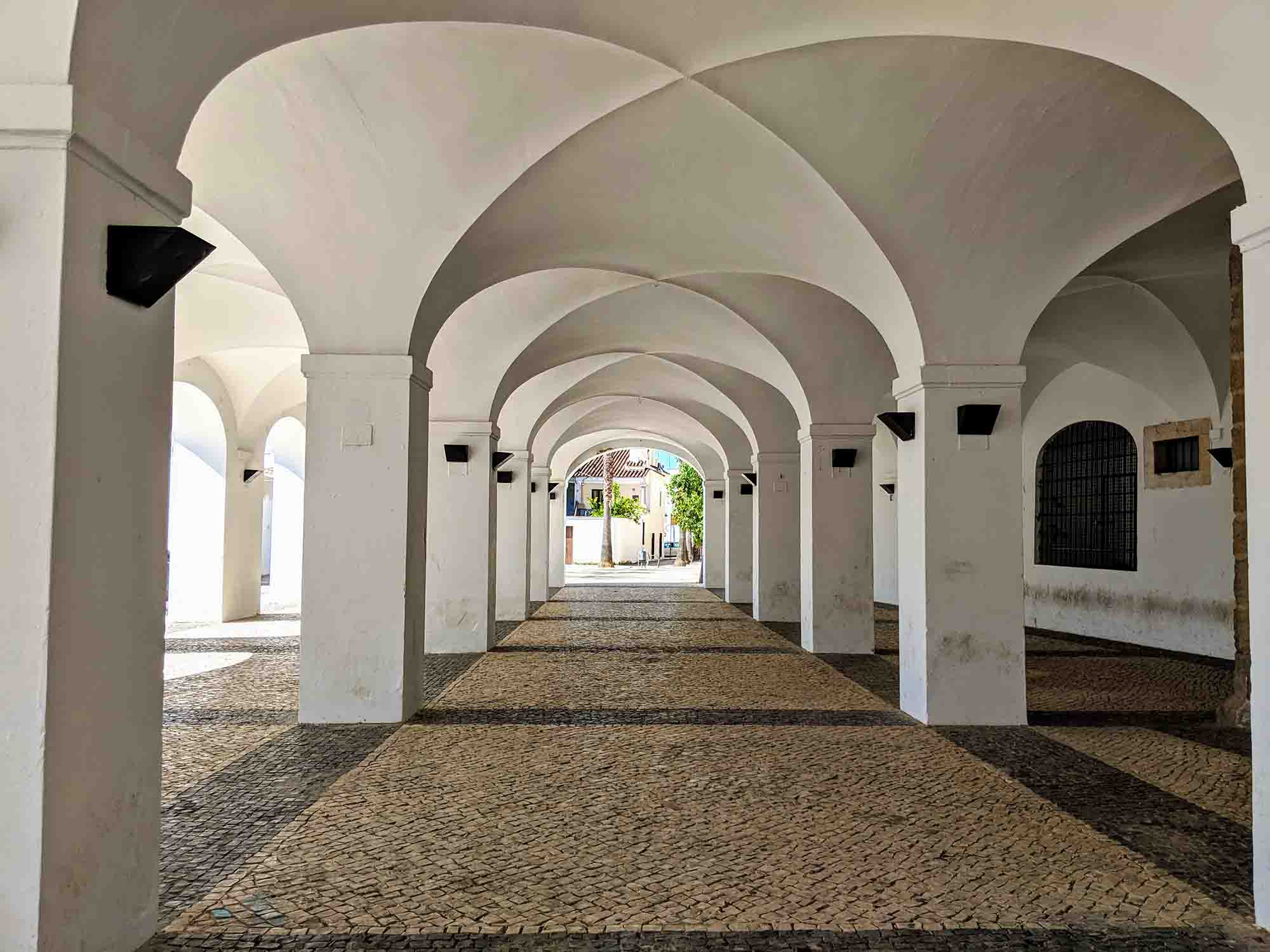 Arches in Olivenza
