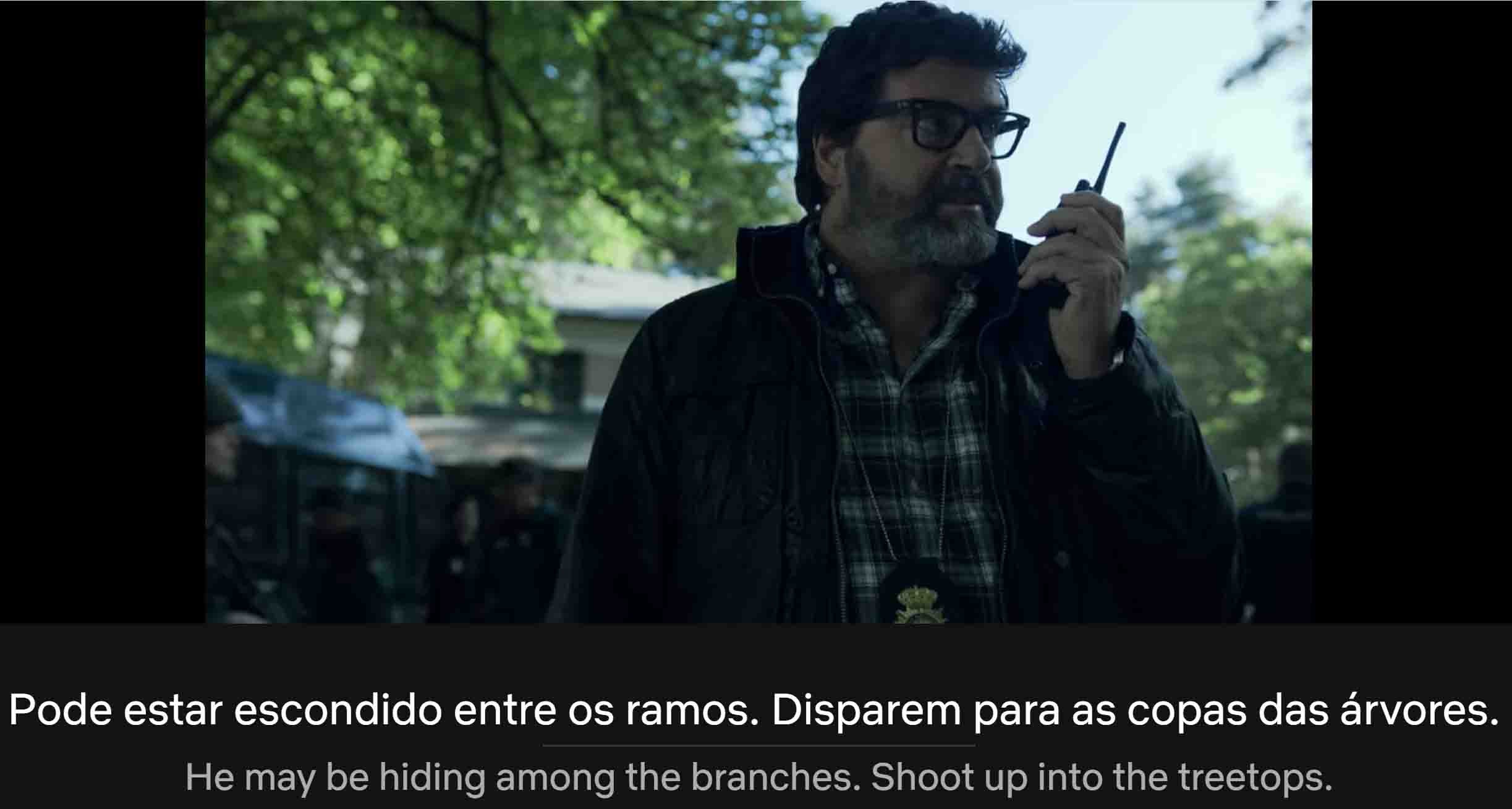 Casa de Papel with Brazilian Portuguese and English subtitles