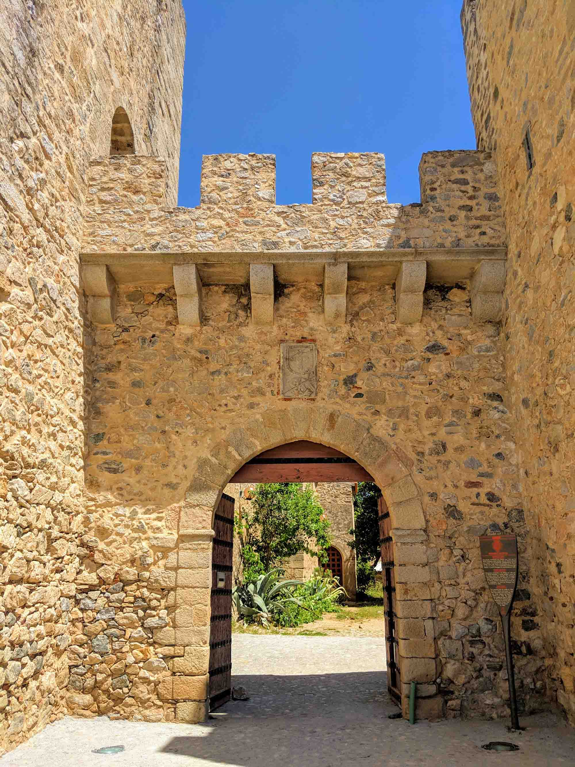 Elvas Castle entrance