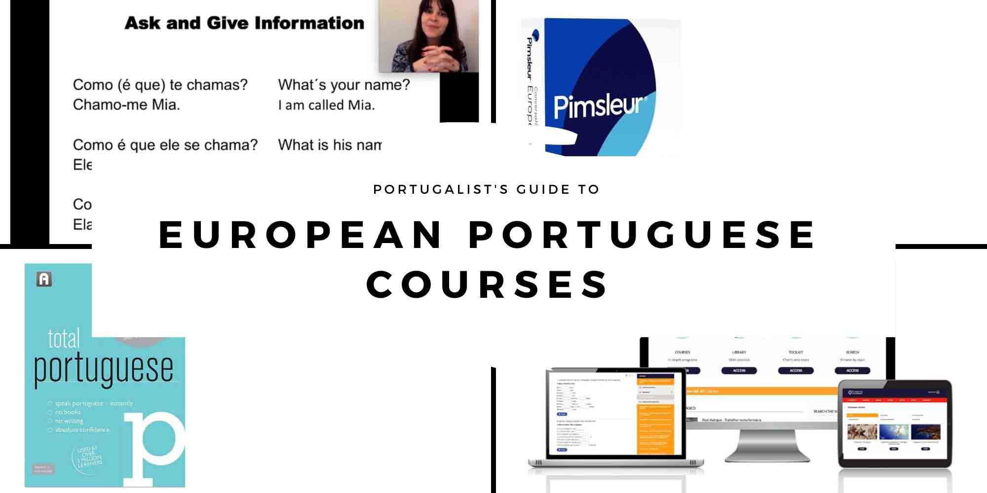 European Portuguese Courses Header
