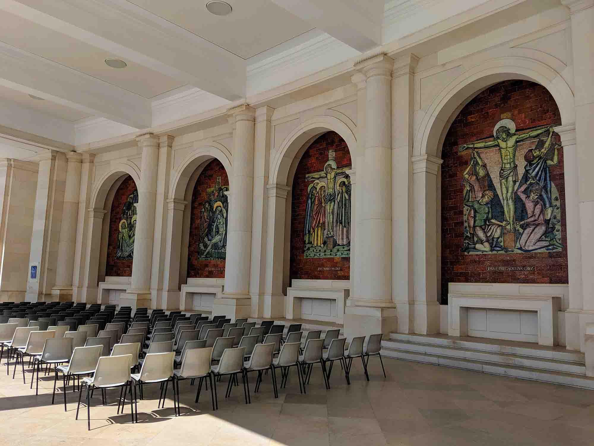 Fatima seating for mass