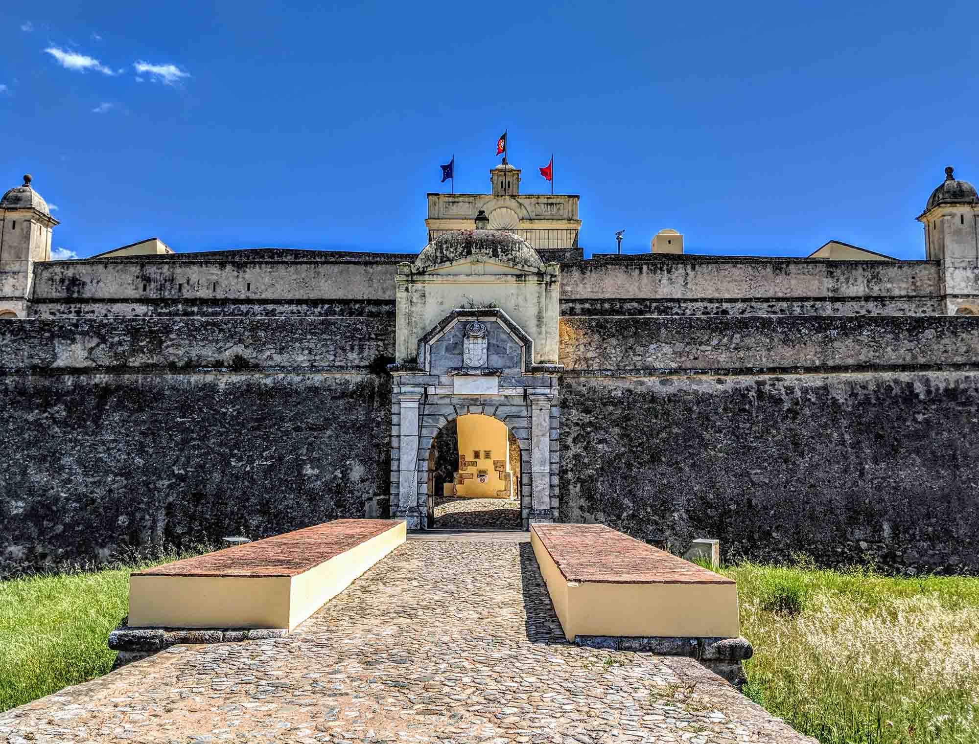 Forte de Santa Luzia entrance