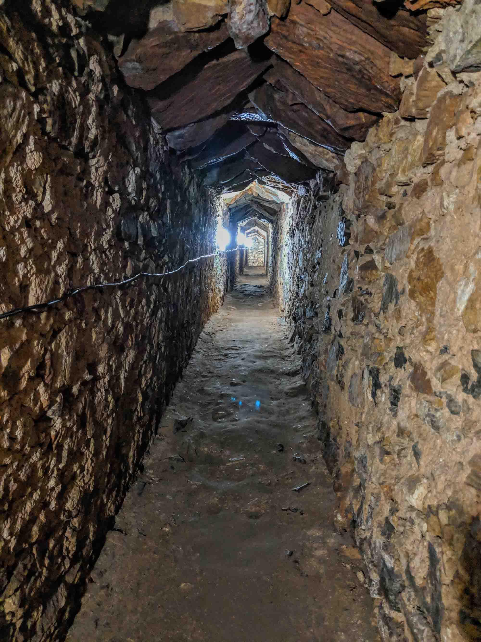Forte de Santa Luzia tunnel