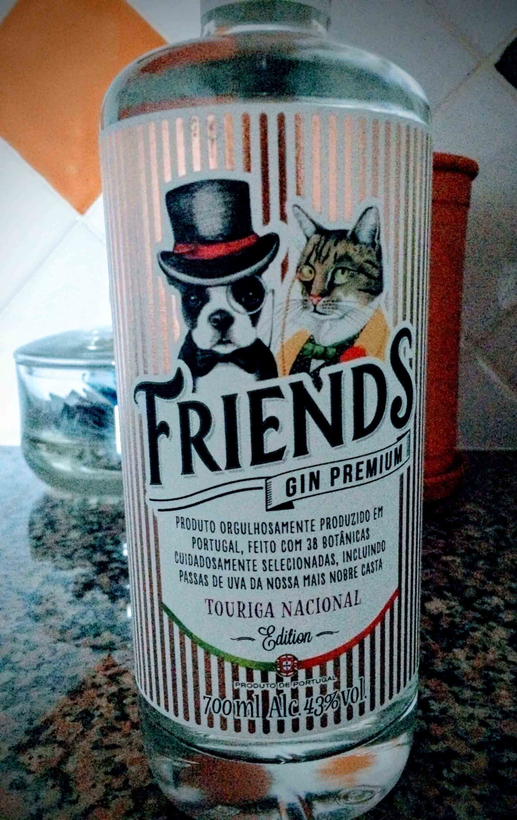 Friends gin