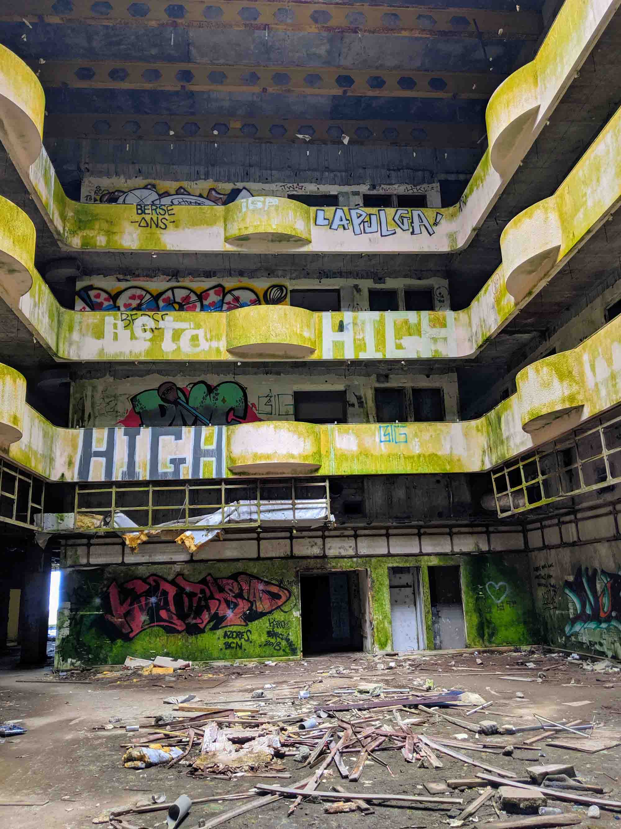 Hotel Monte Palace hall