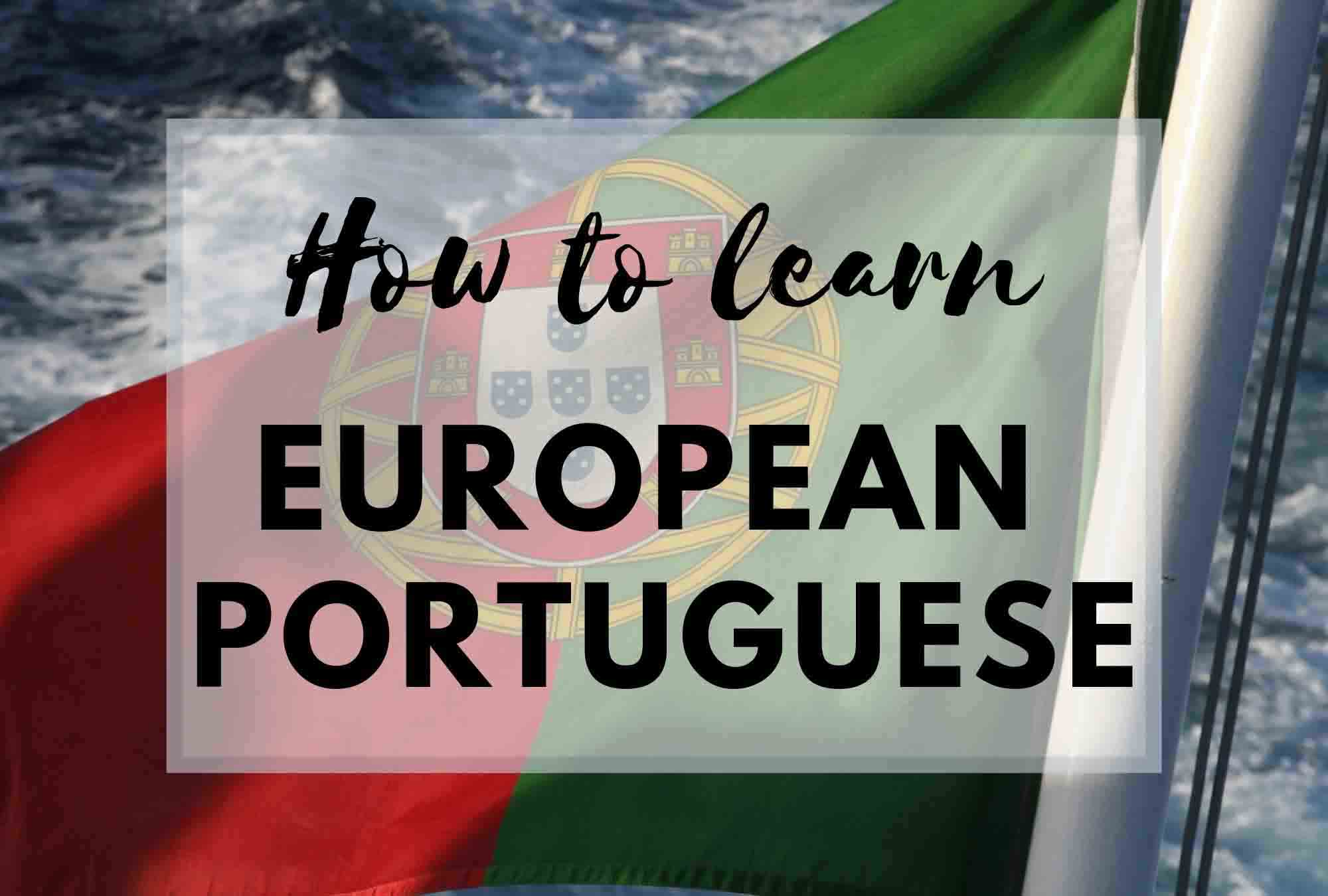 How to learn Portuguese banner