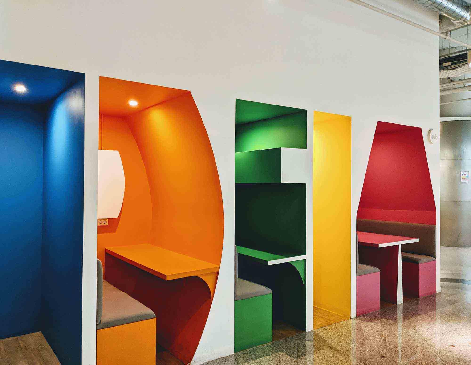 IDEIA booths