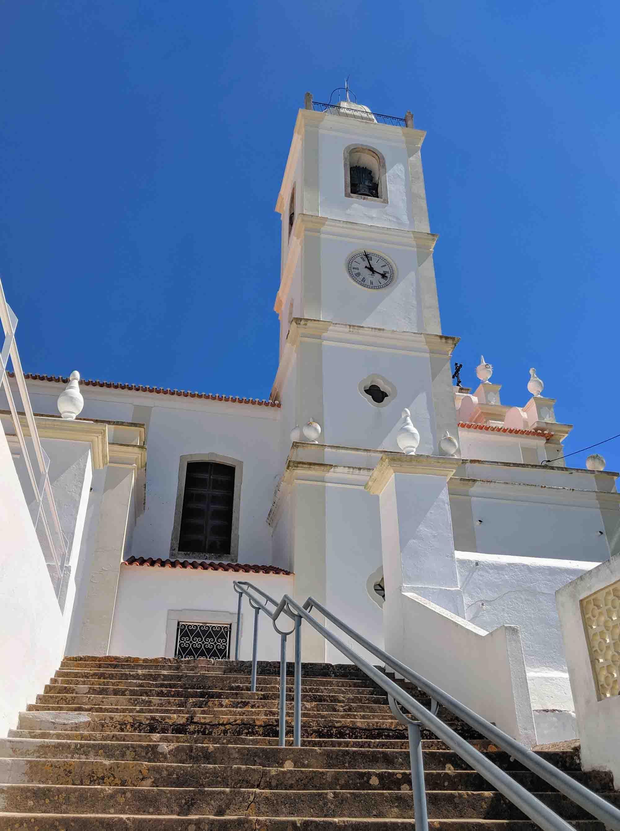 Igreja Matriz de Porches steps