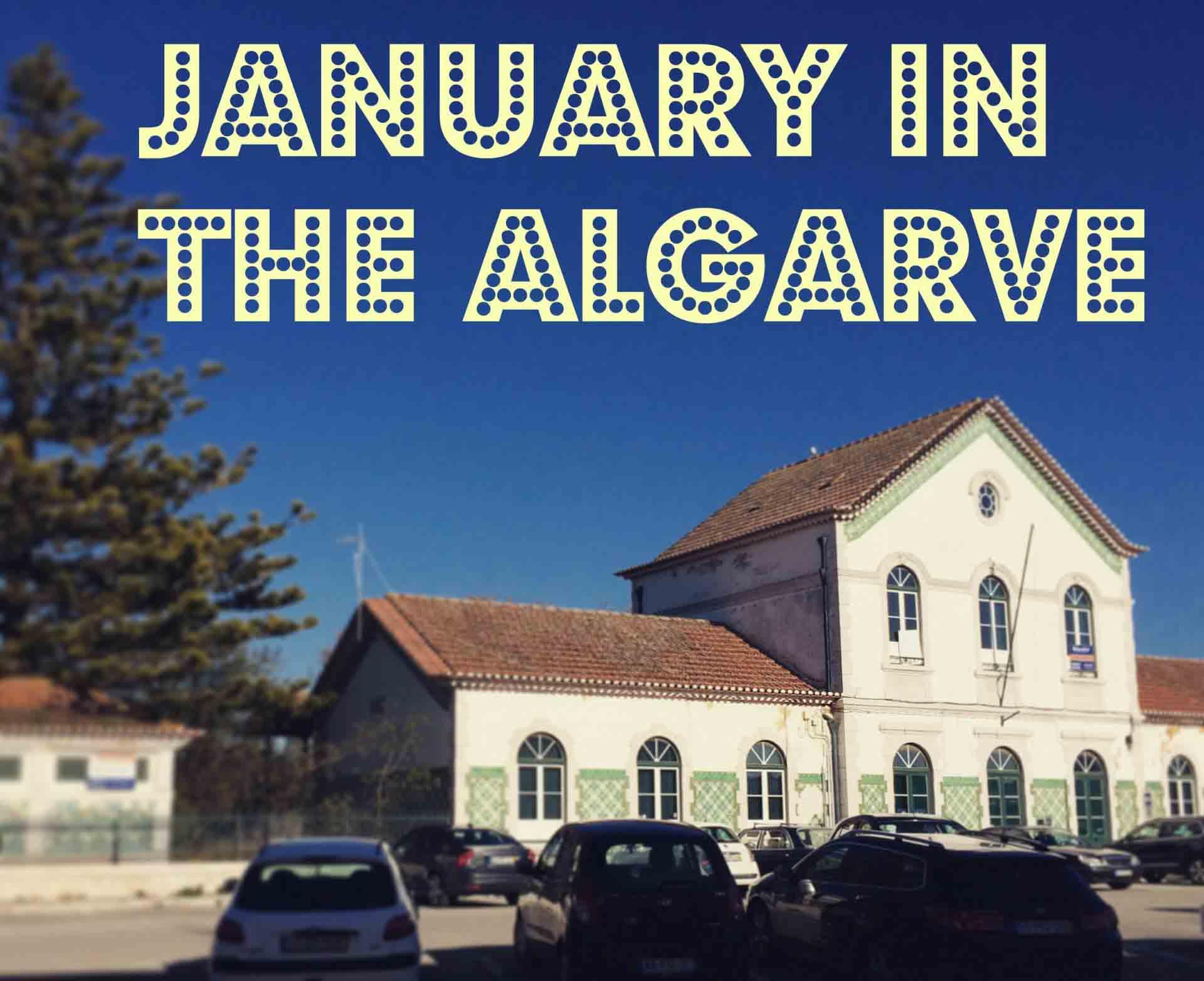 Algarve in January