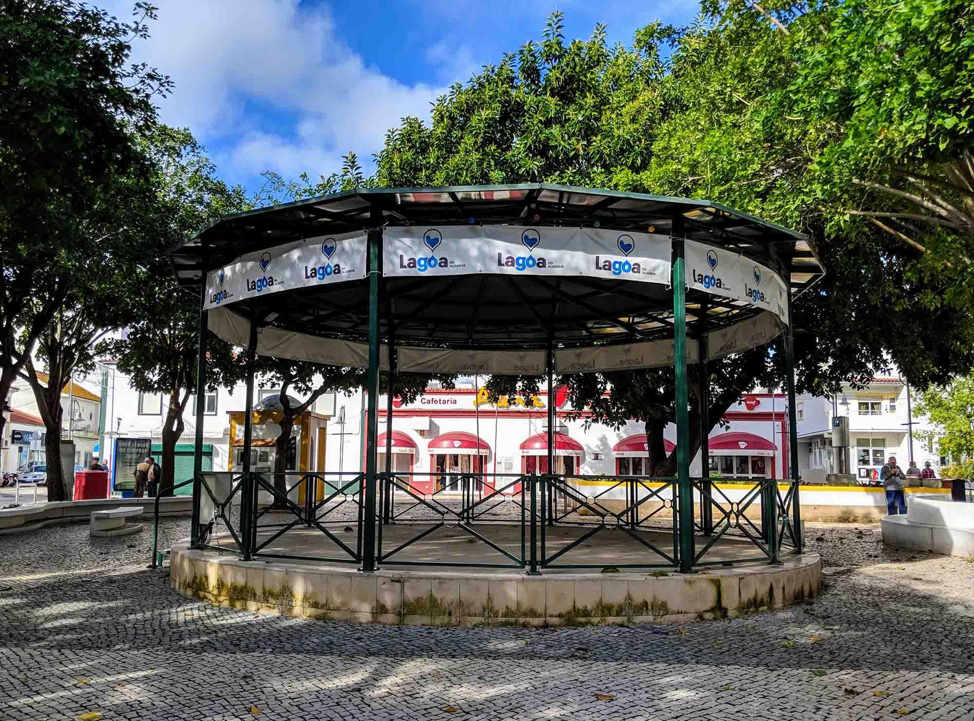 Lagoa bandstand