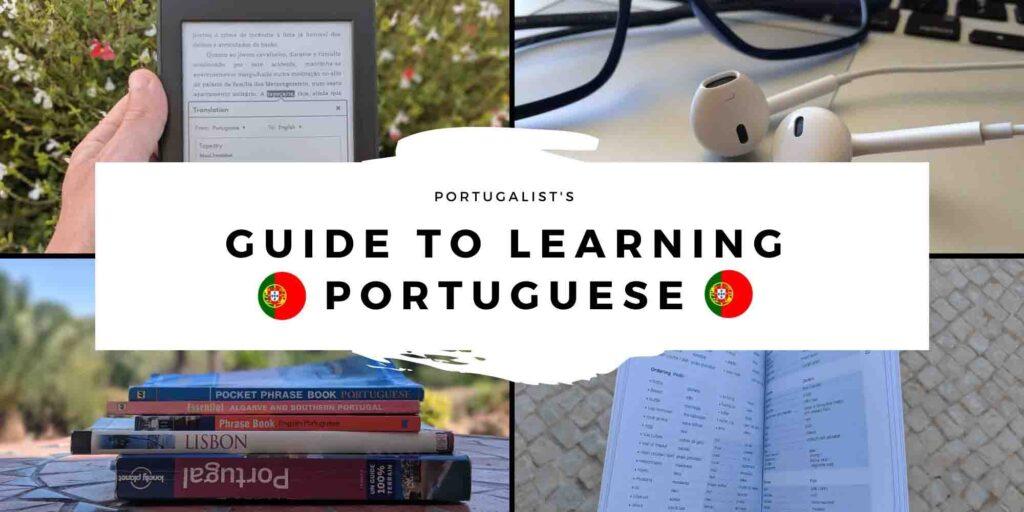 Learn Portuguese header