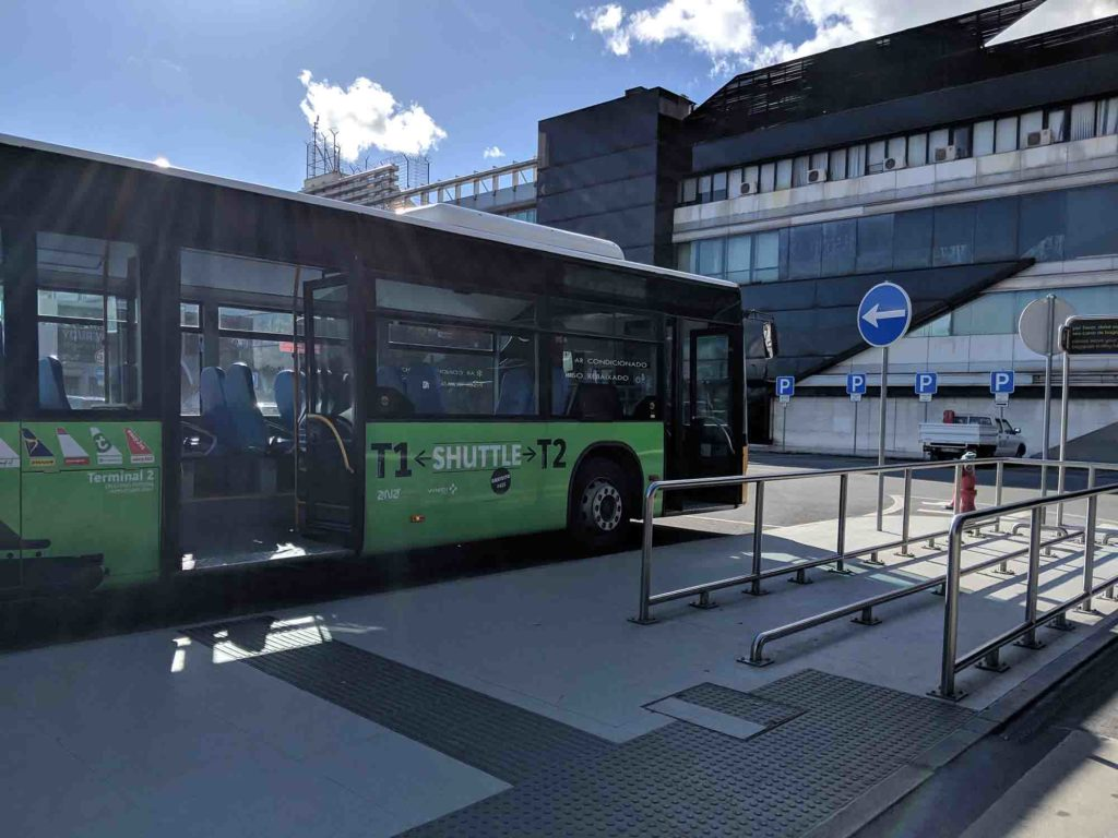 Lisbon Airport Shuttle Bus