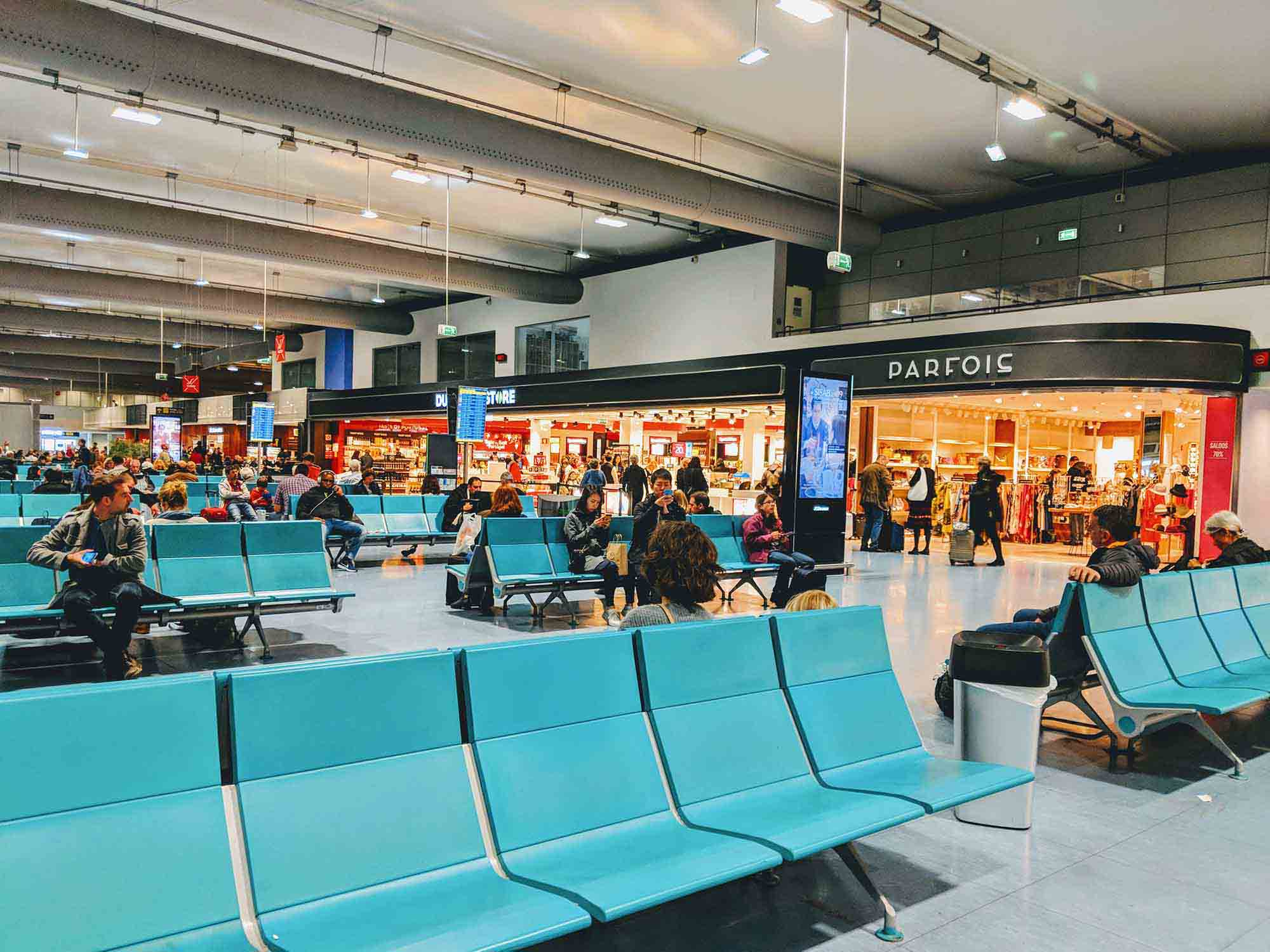 Terminal 2 at Lisbon Airport