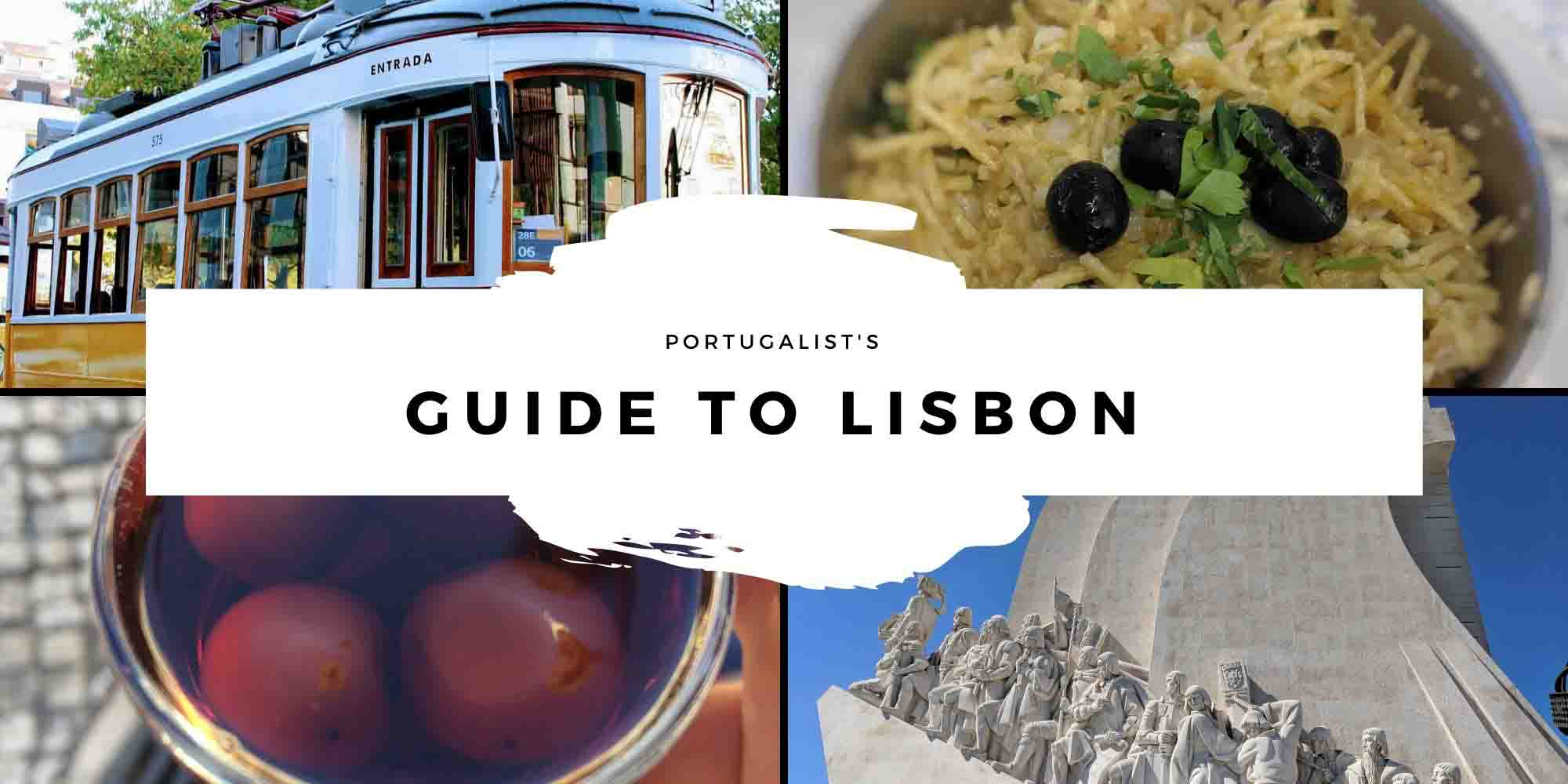 Lisbon Travel Guide header