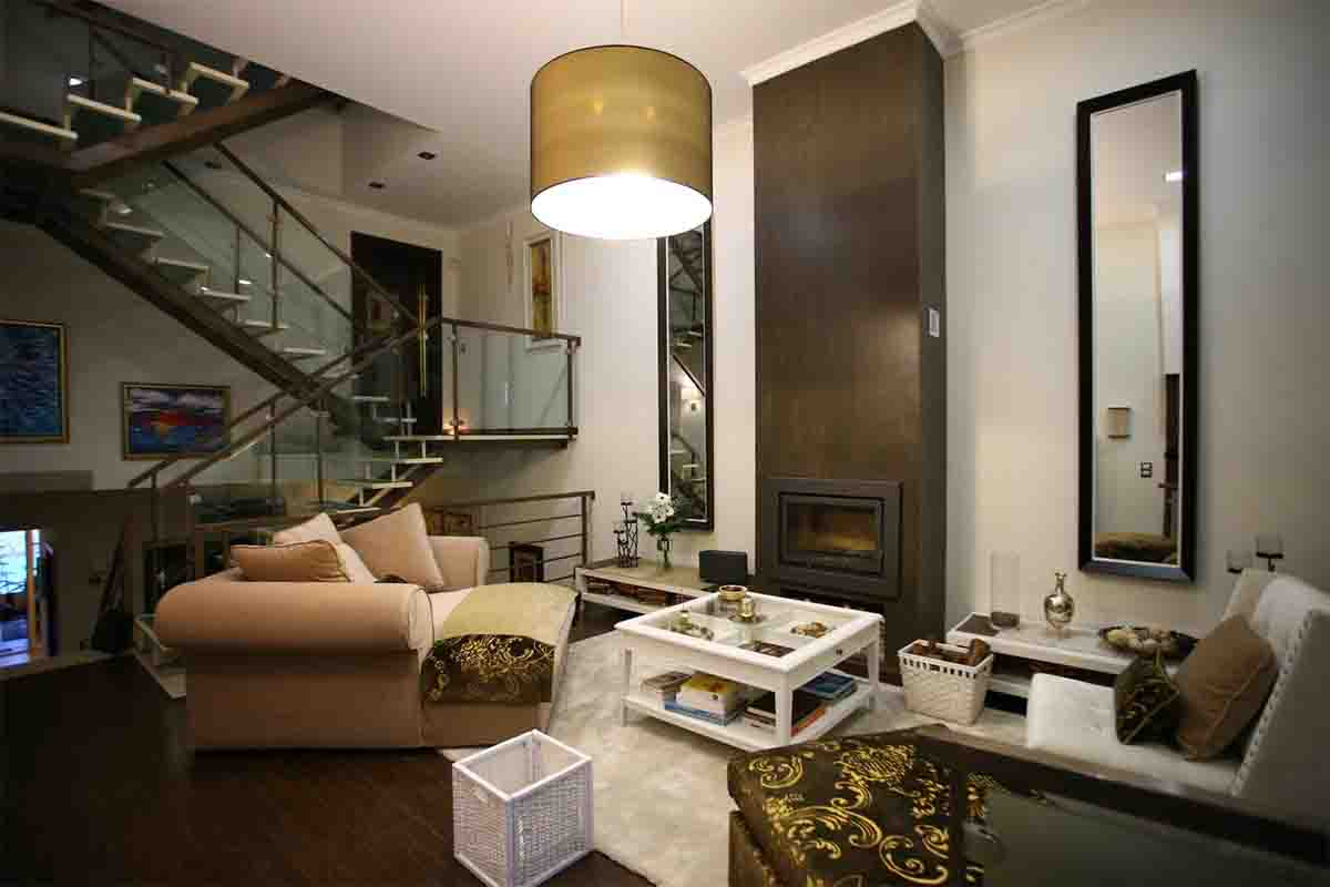 Luxury Guest House_Opus One living room