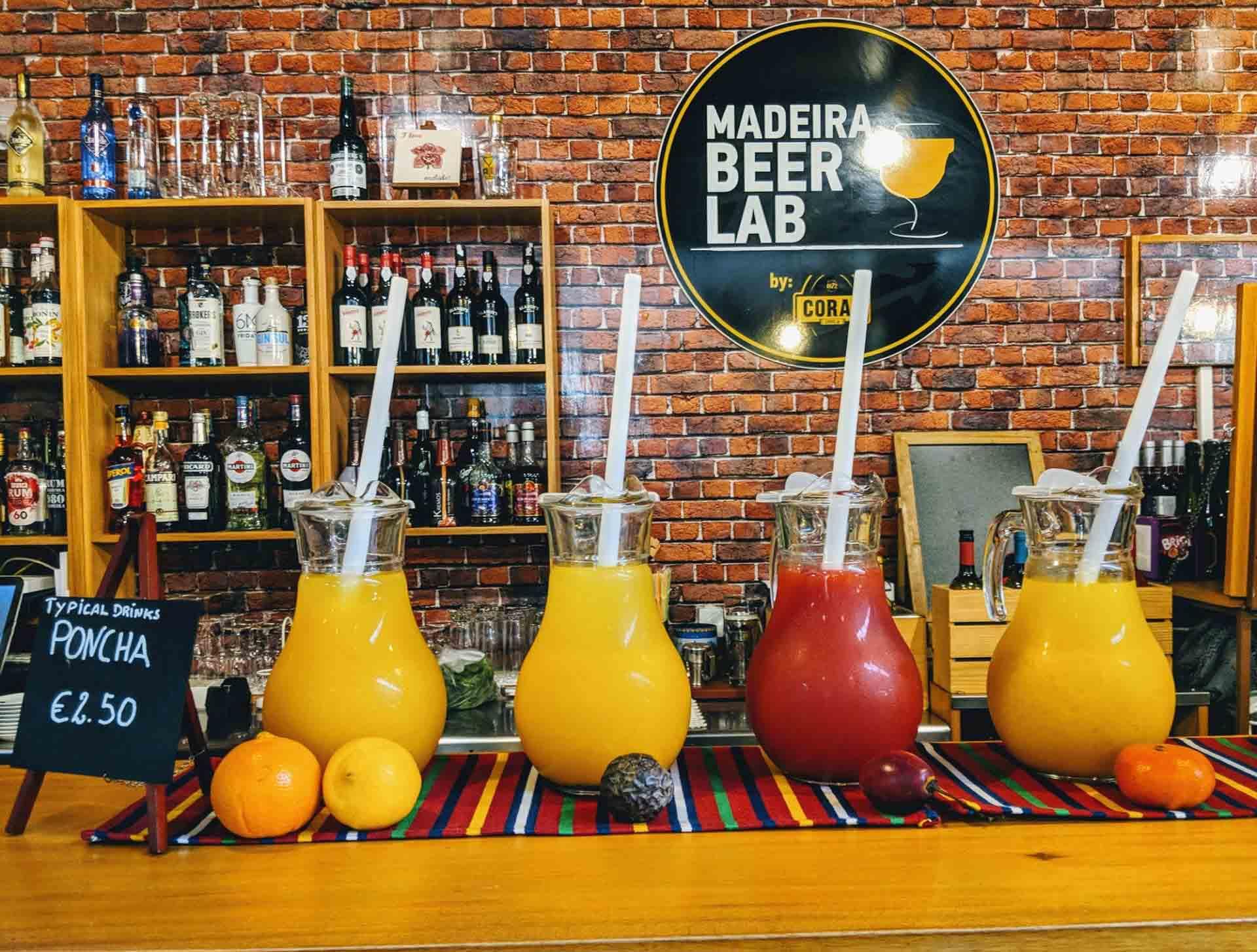 Madeira poncha