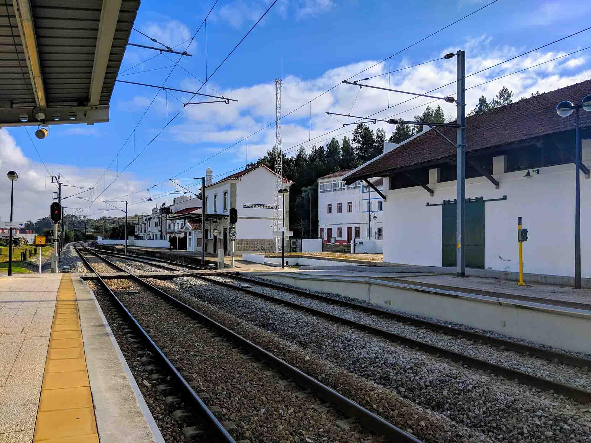 Messines-Alte Train Station
