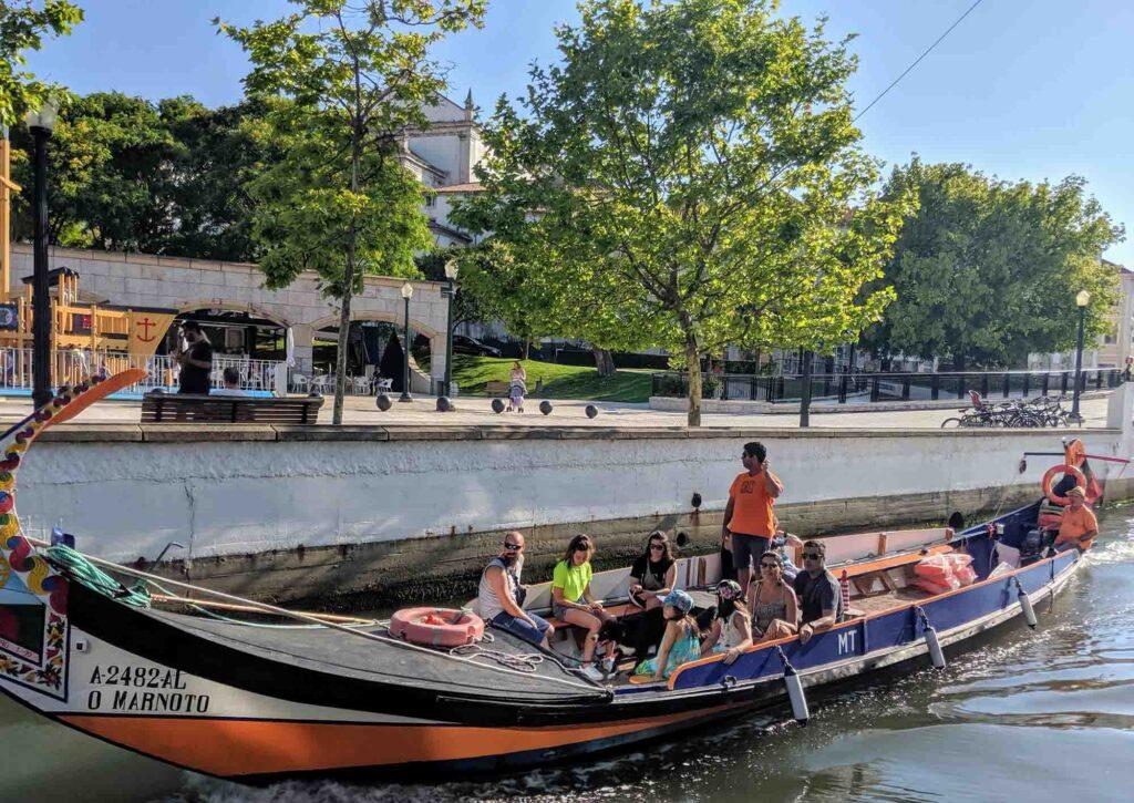 Moliceiro boat tour