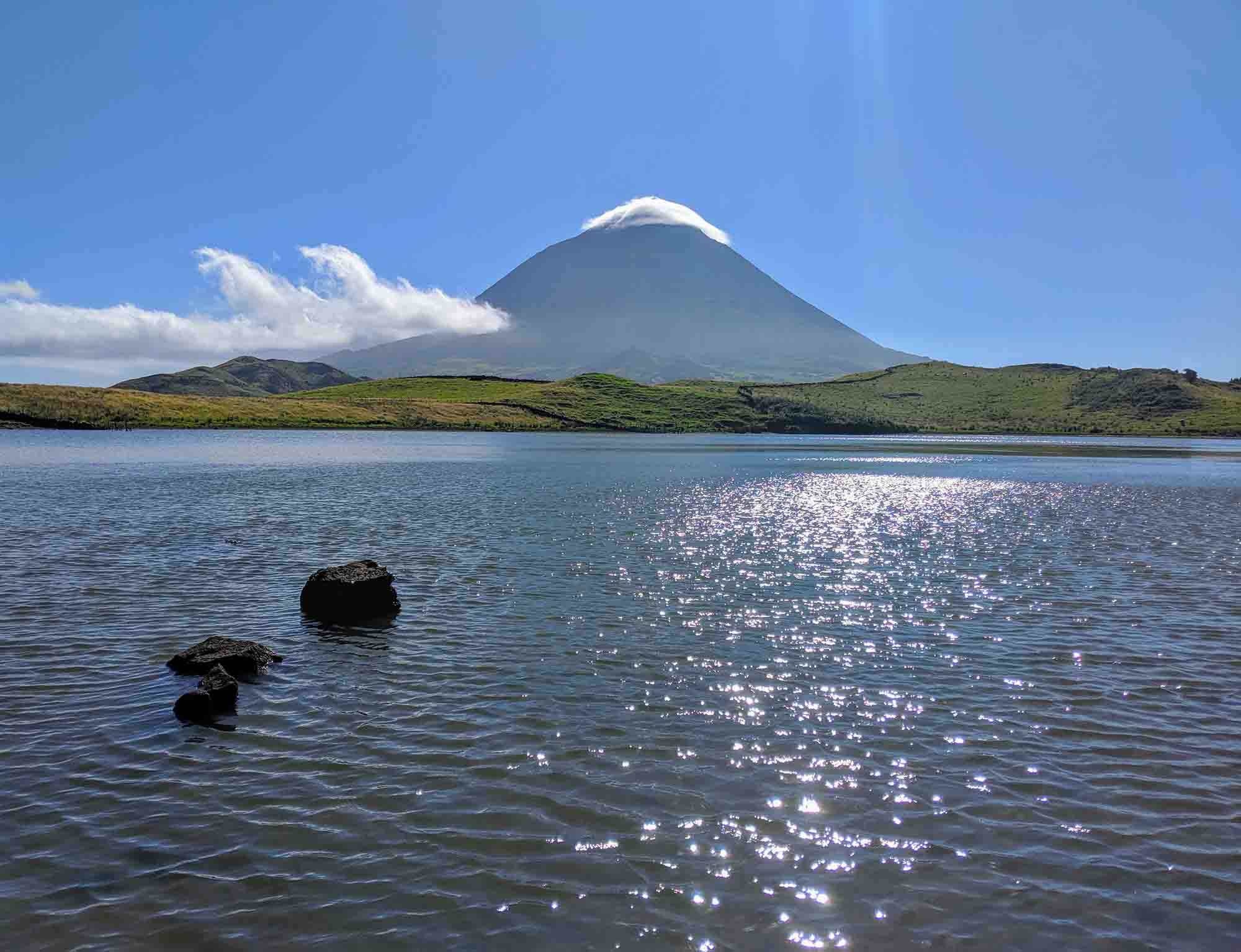 Mount Pico from Captains Lake