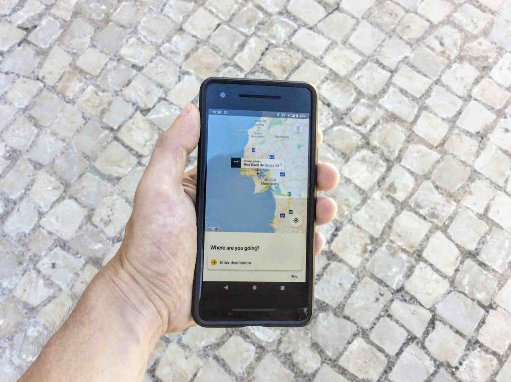 Uber, Cabify, My Taxi – The Best Taxi Apps in Portugal