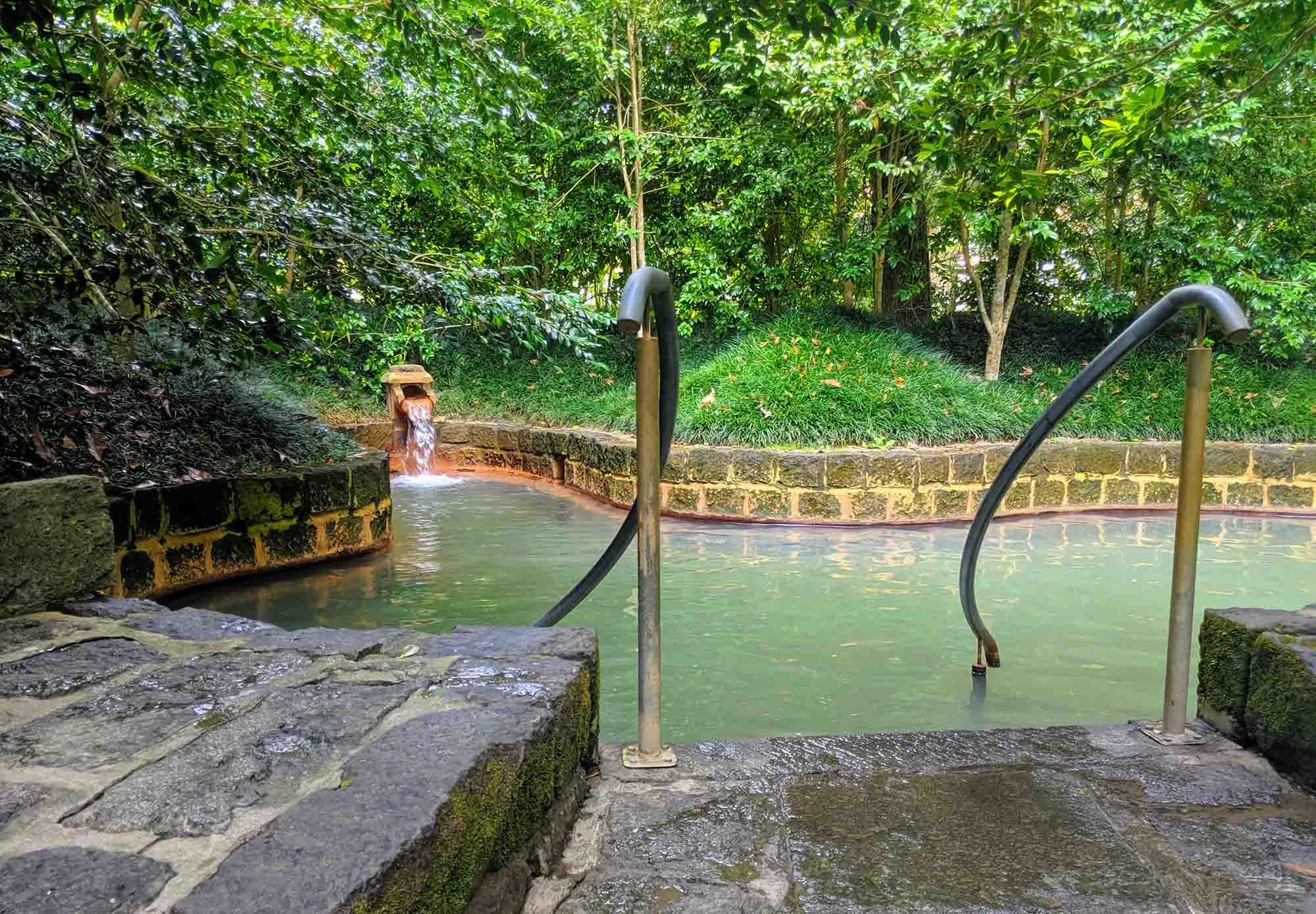 Parque Terra Nostra smaller pool