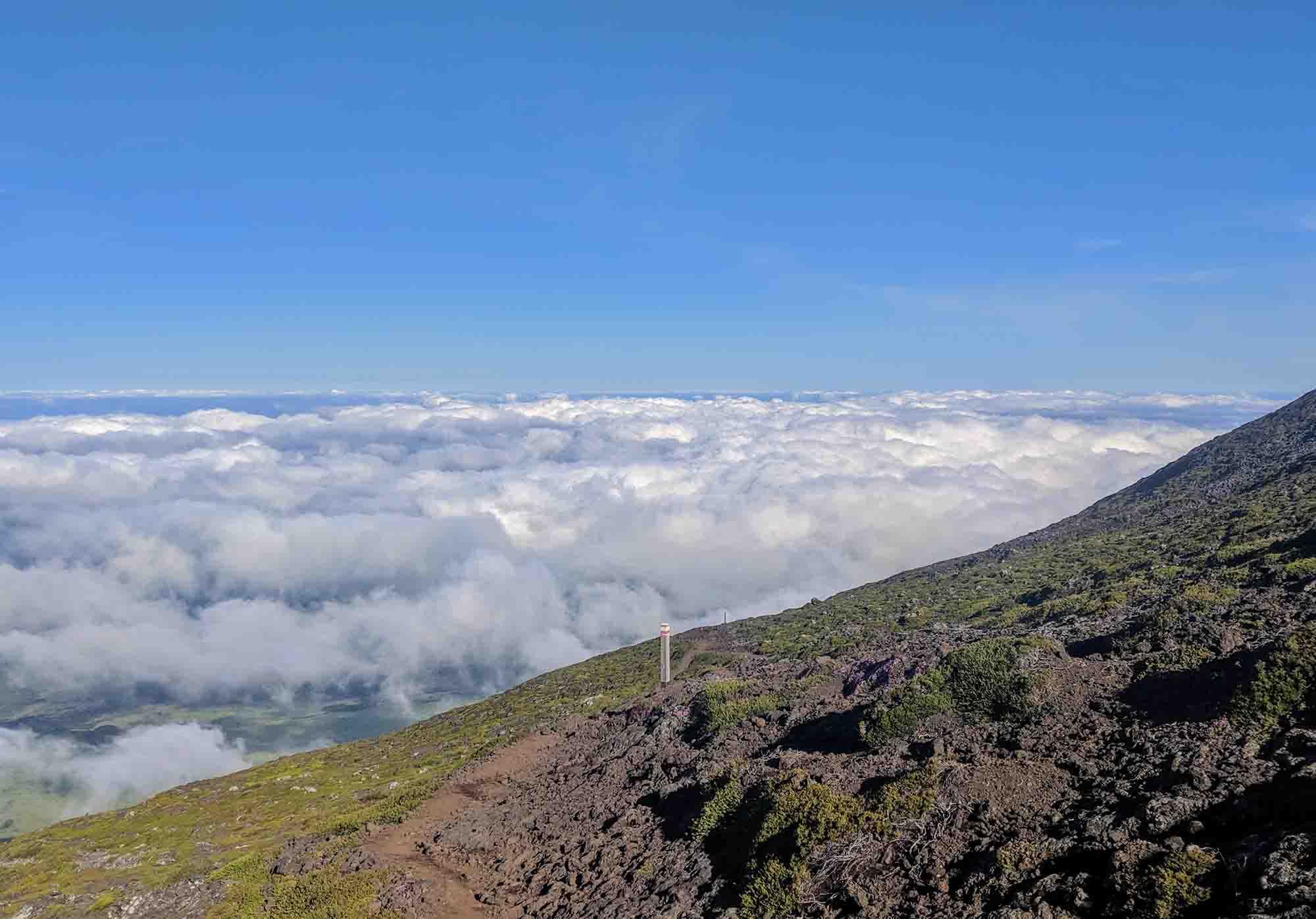 Path along pico