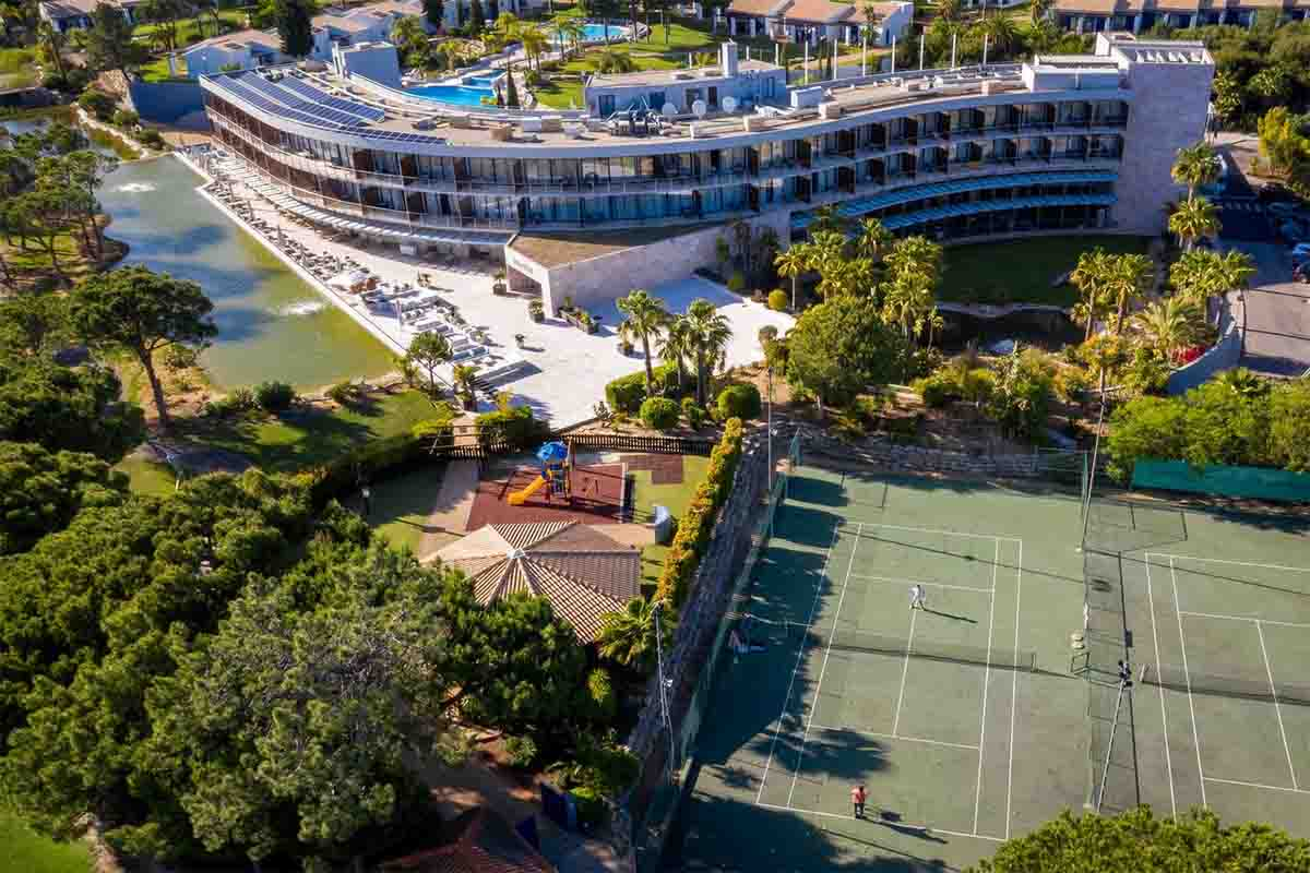 Pestana Vila Sol Golf & Resort Hotel birdseye view