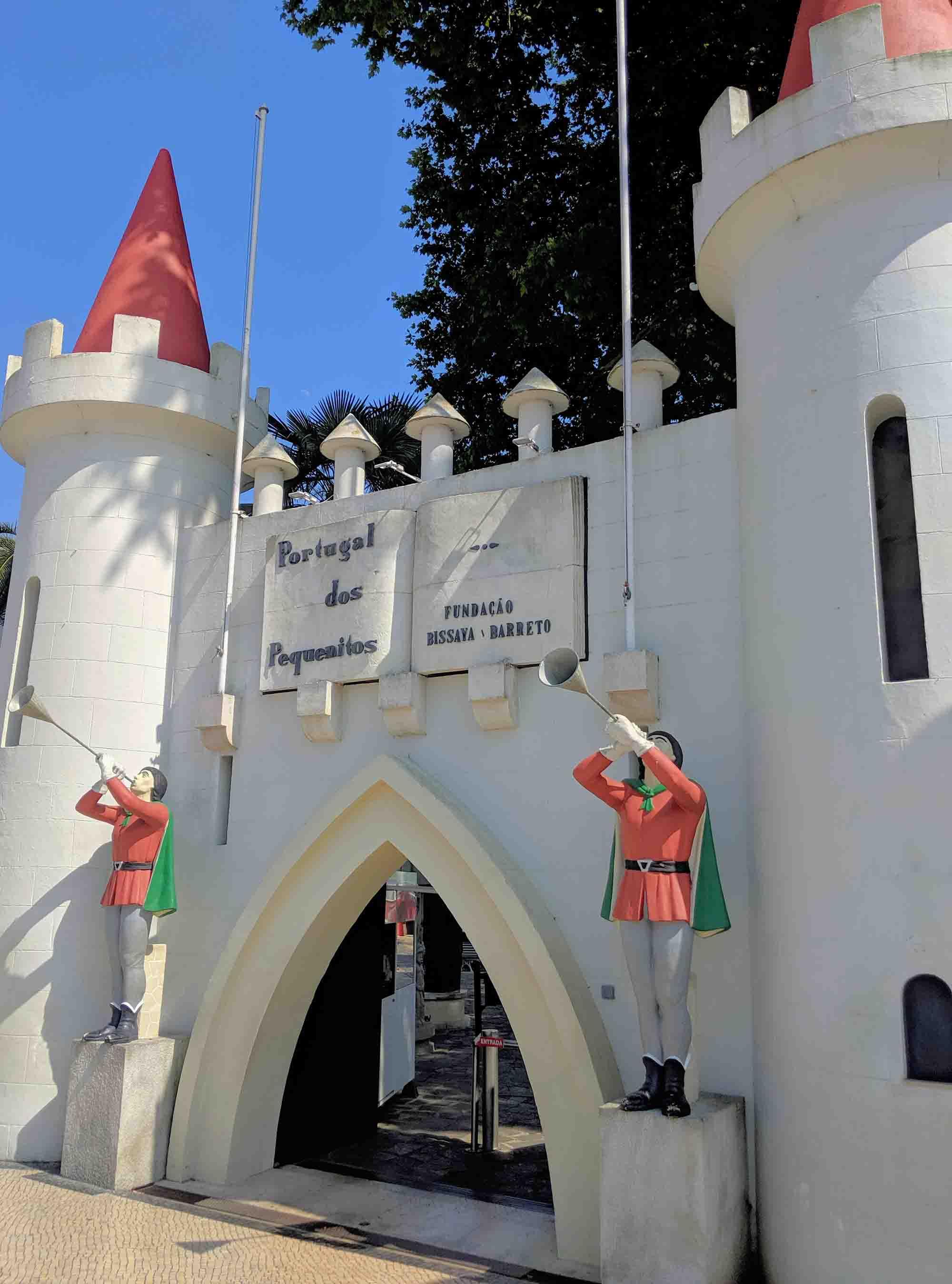 Portugal dos Pequenitos Entrance