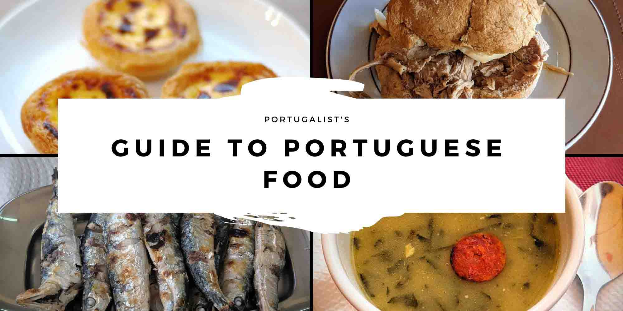 Portuguese Food header