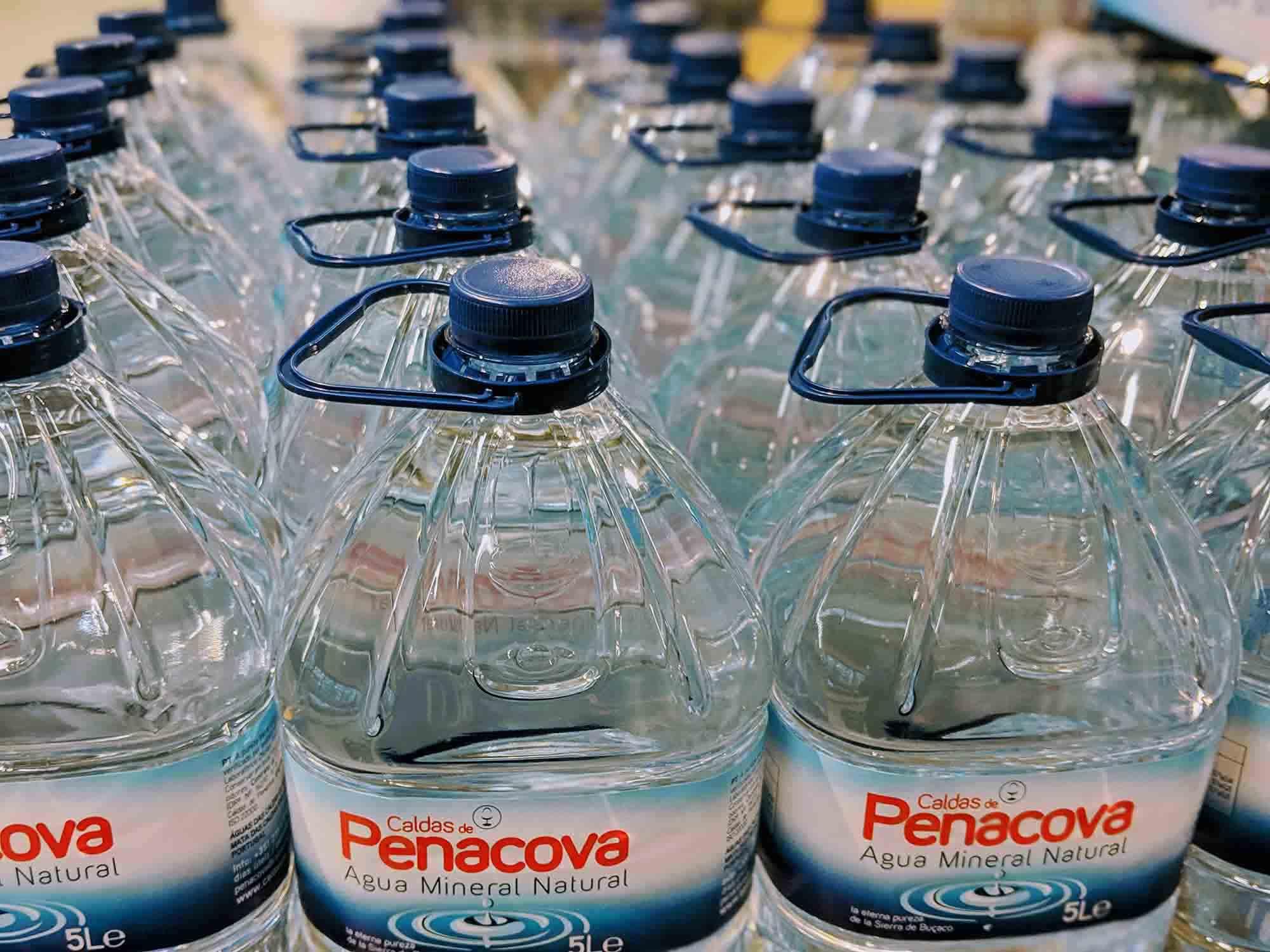 Portuguese bottled water