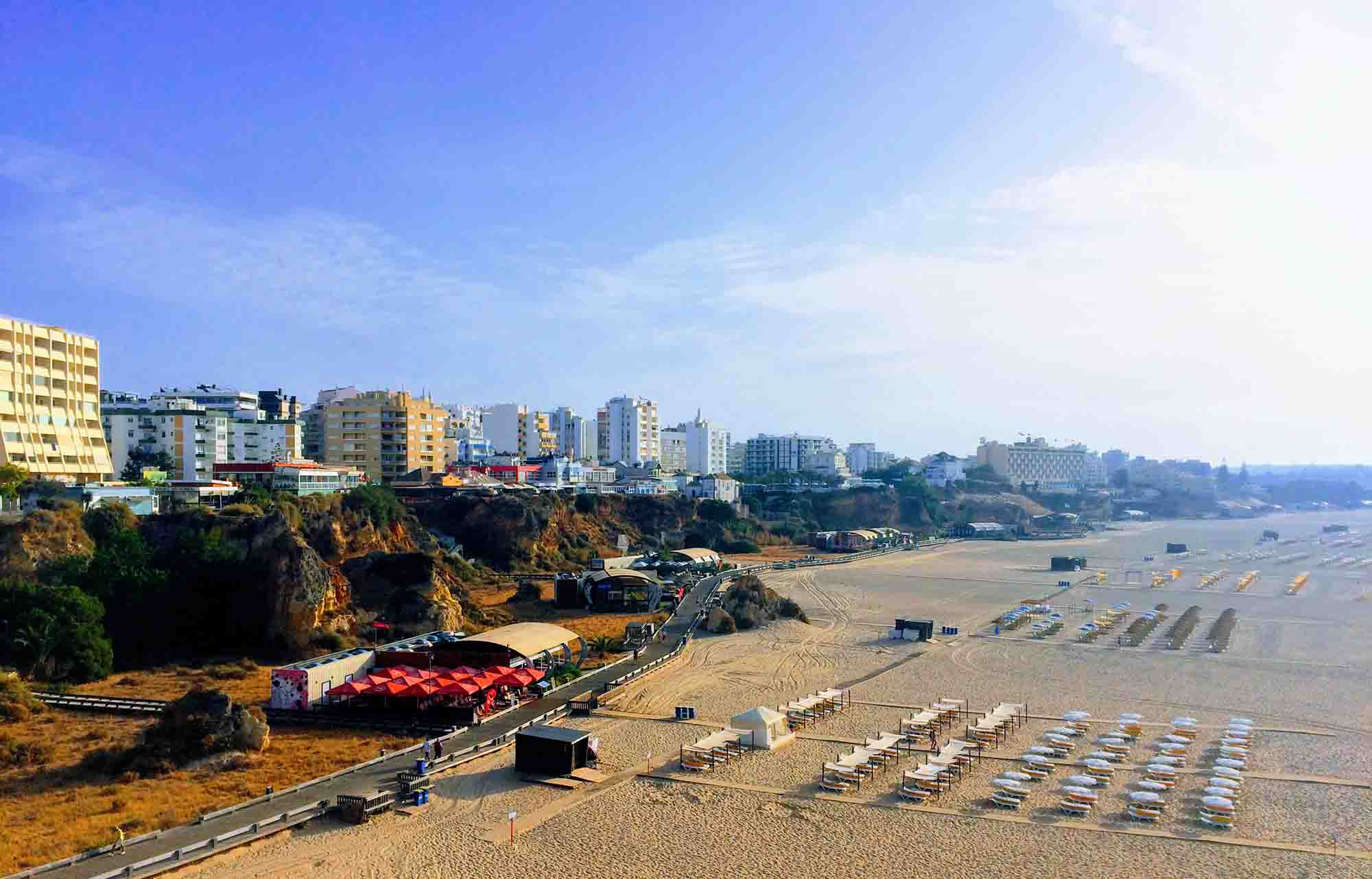 Praia da Rocha morning