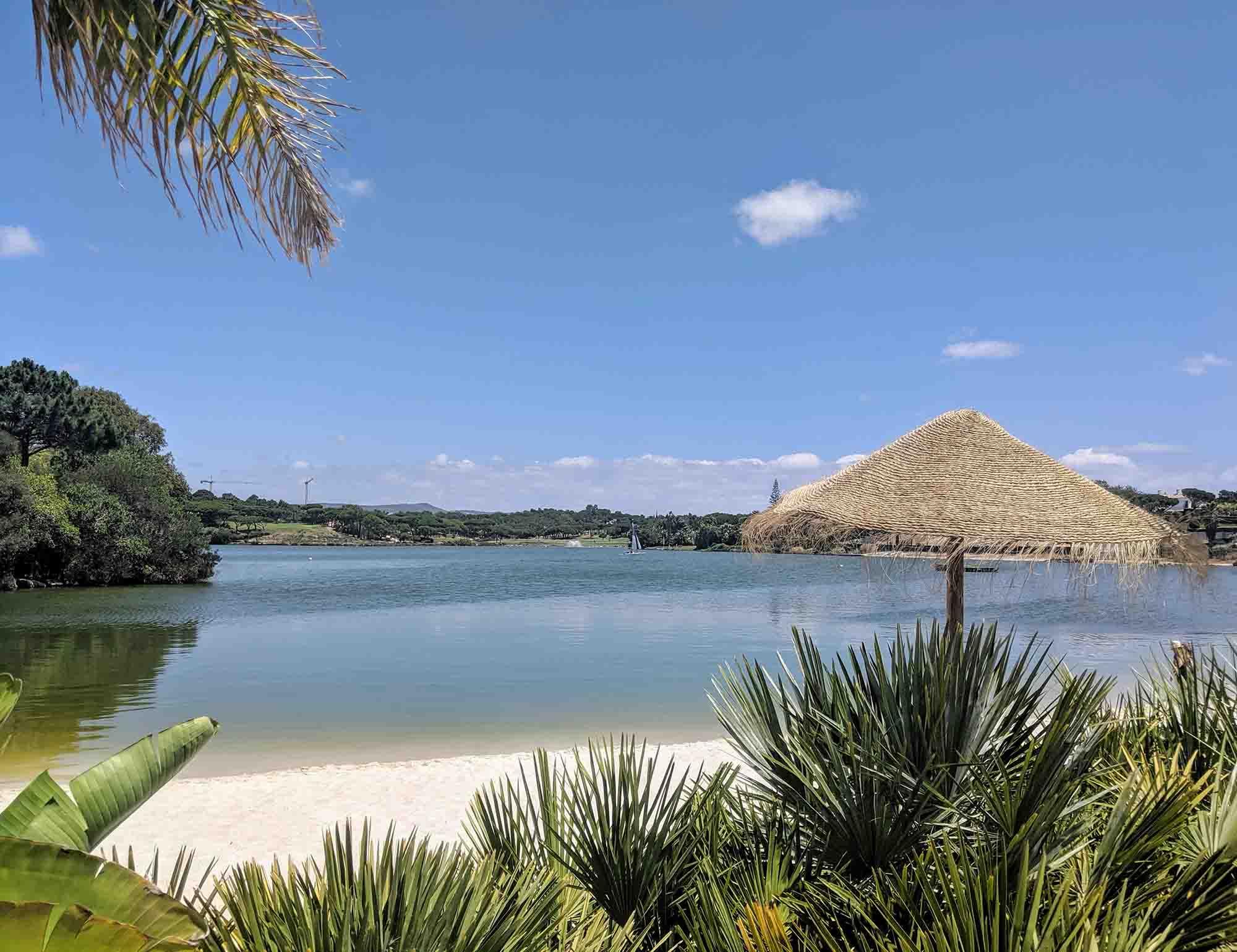 Quinta do Lago lake