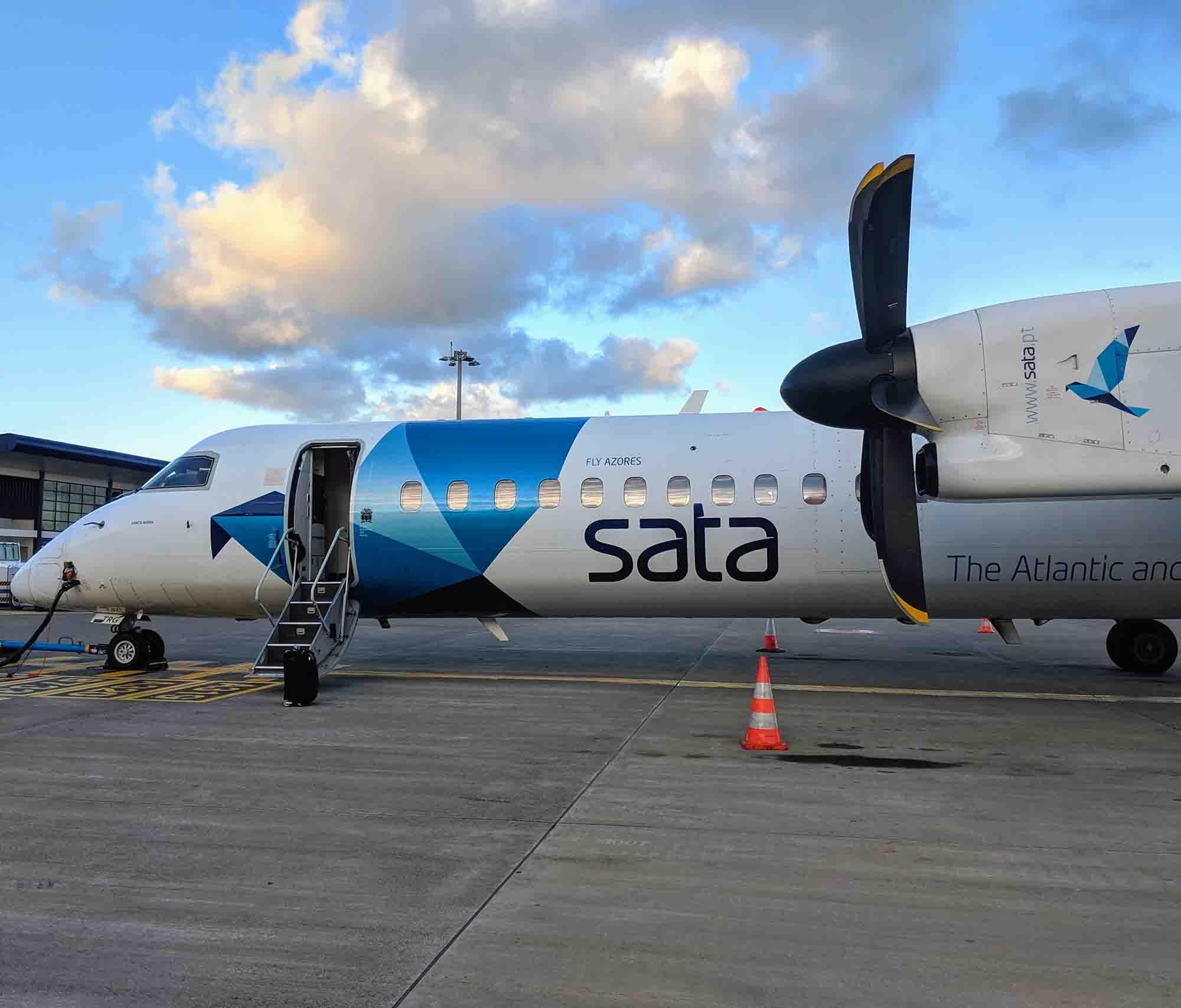 SATA Azores Airlines Plane