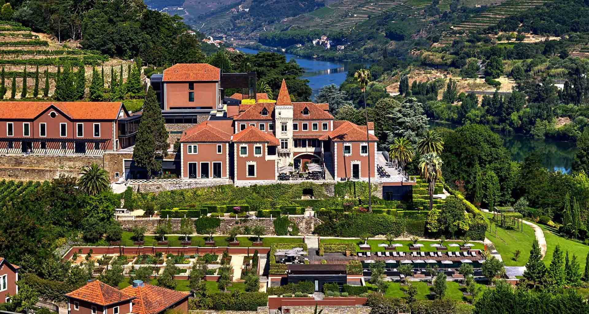 Six Senses Douro Valley aerial view