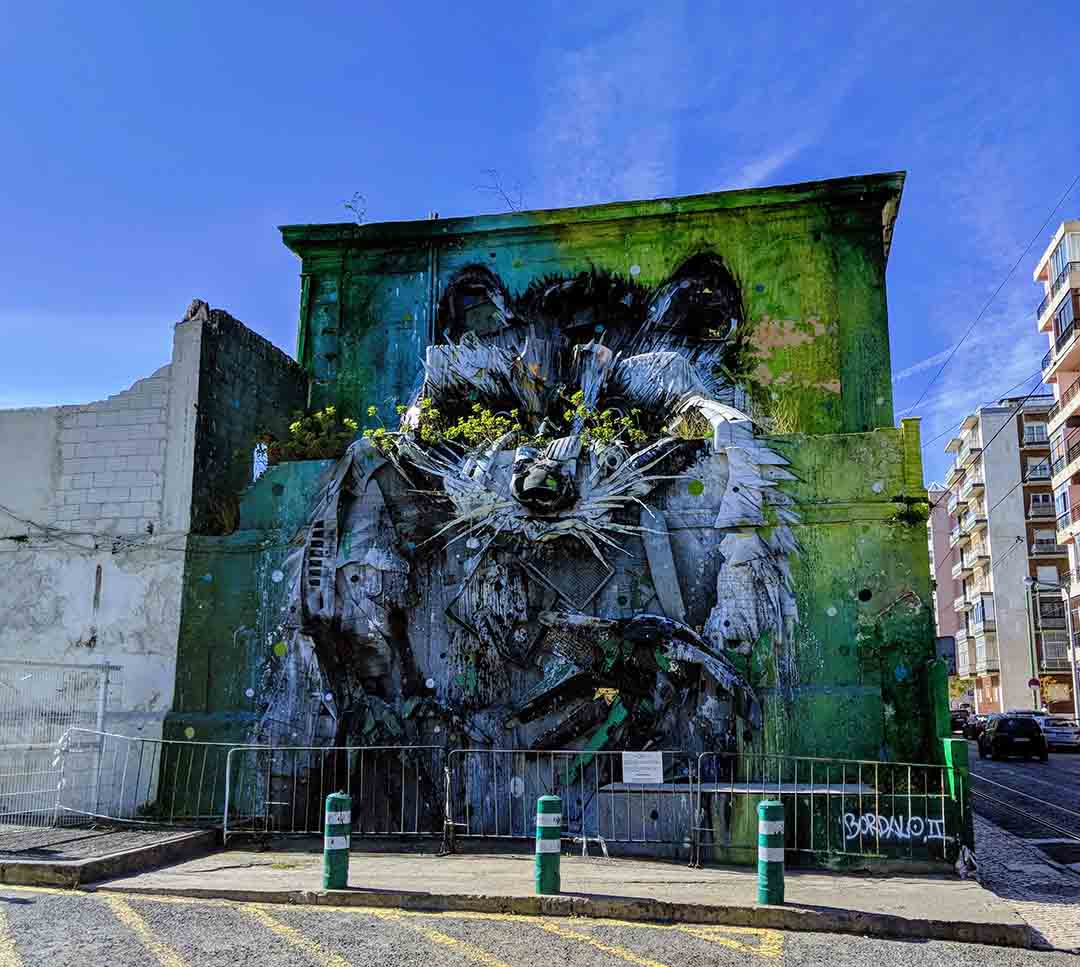 Street art in Belém, Lisbon
