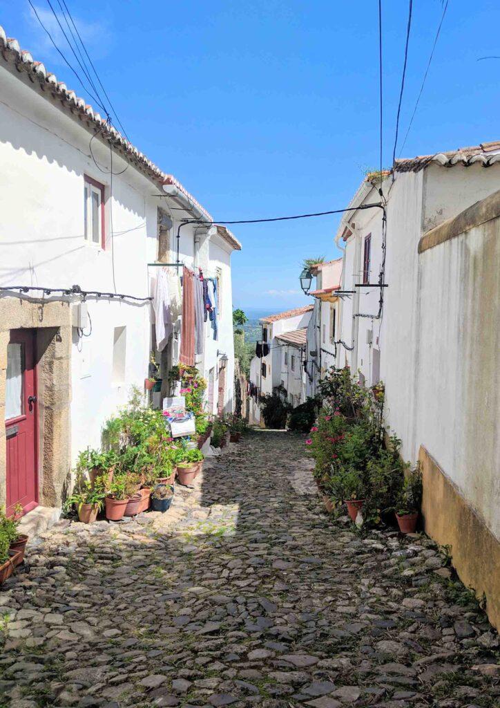 Street in Castelo de Vide's Jewish Quarter