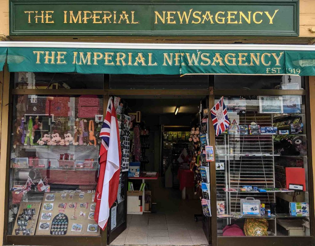 The Imperial Newsagency