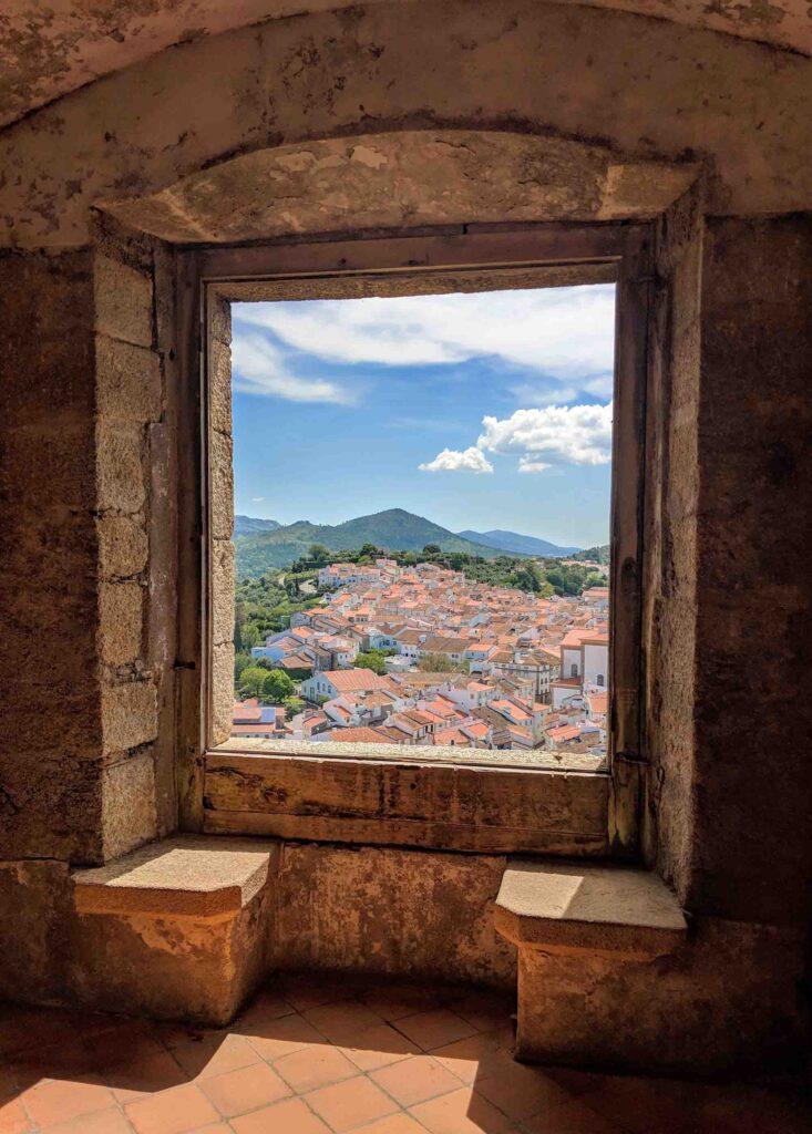 View from Castelo de Vide Castle