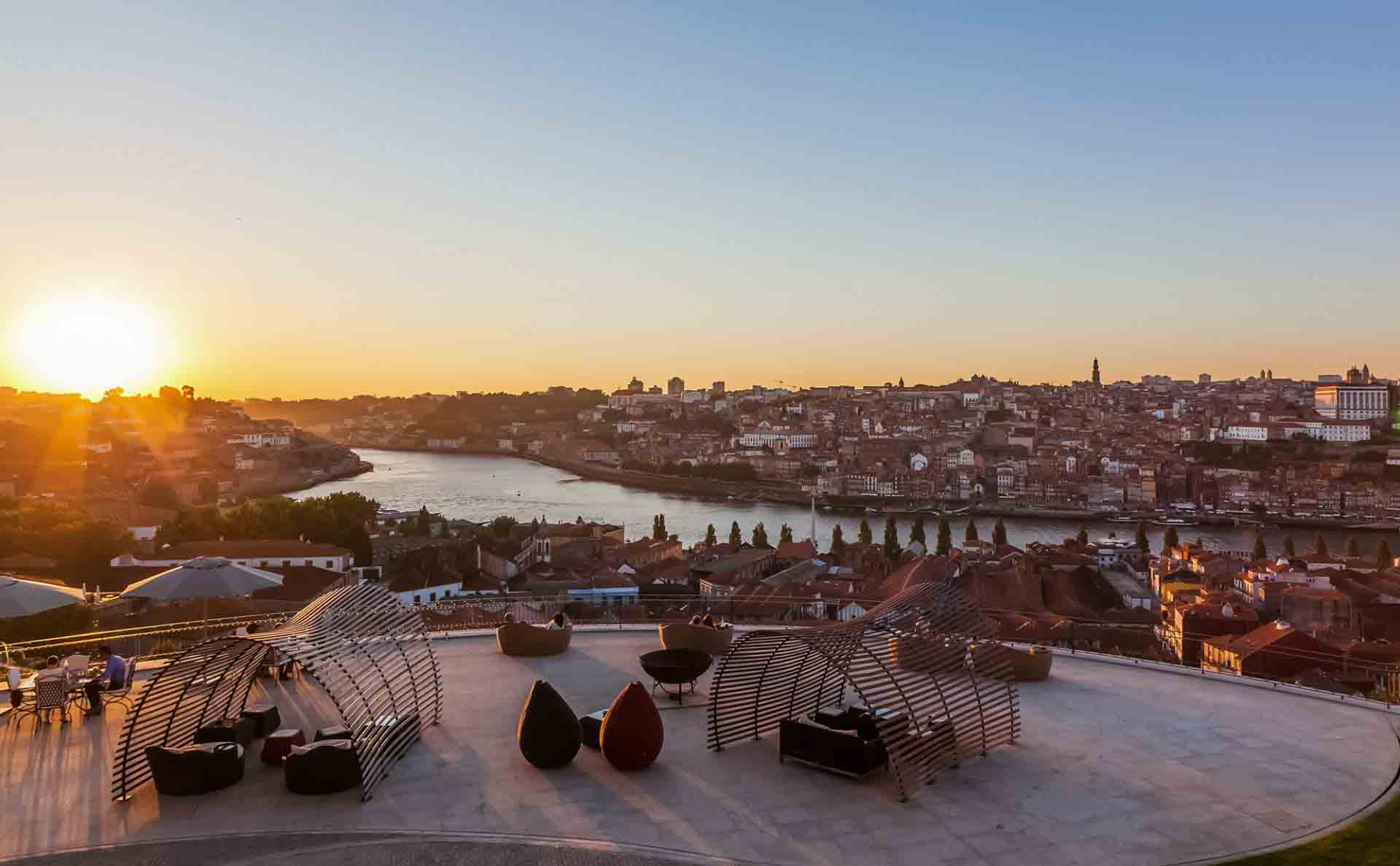 View of Porto from The Yeatman