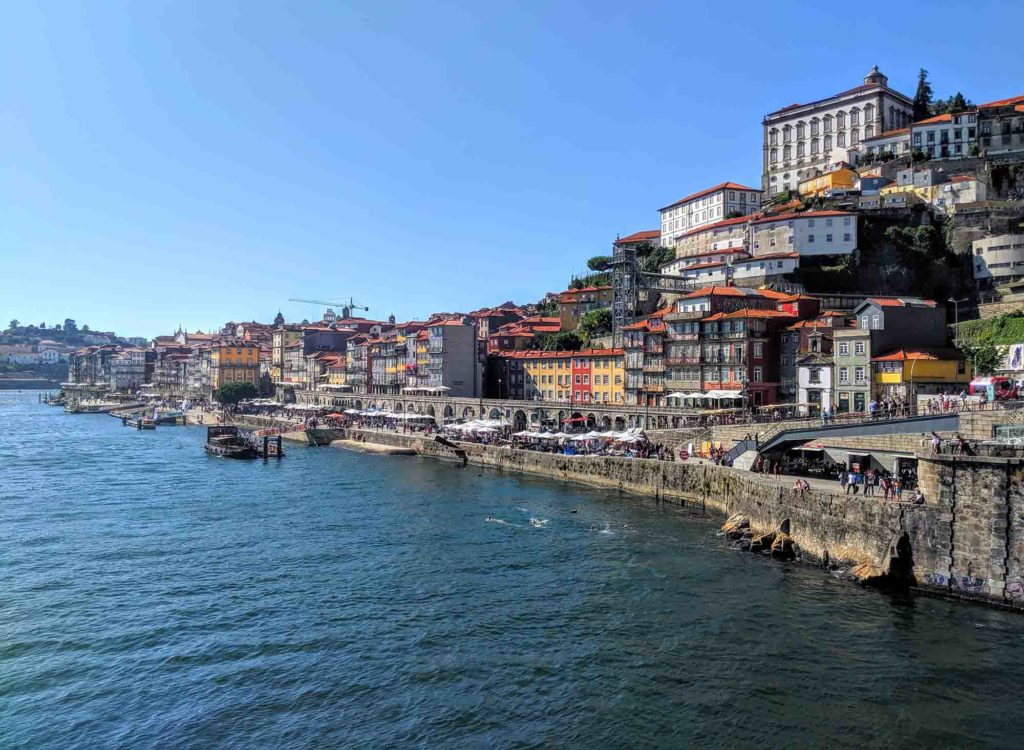 View of Ribeira from Luis I Bridge