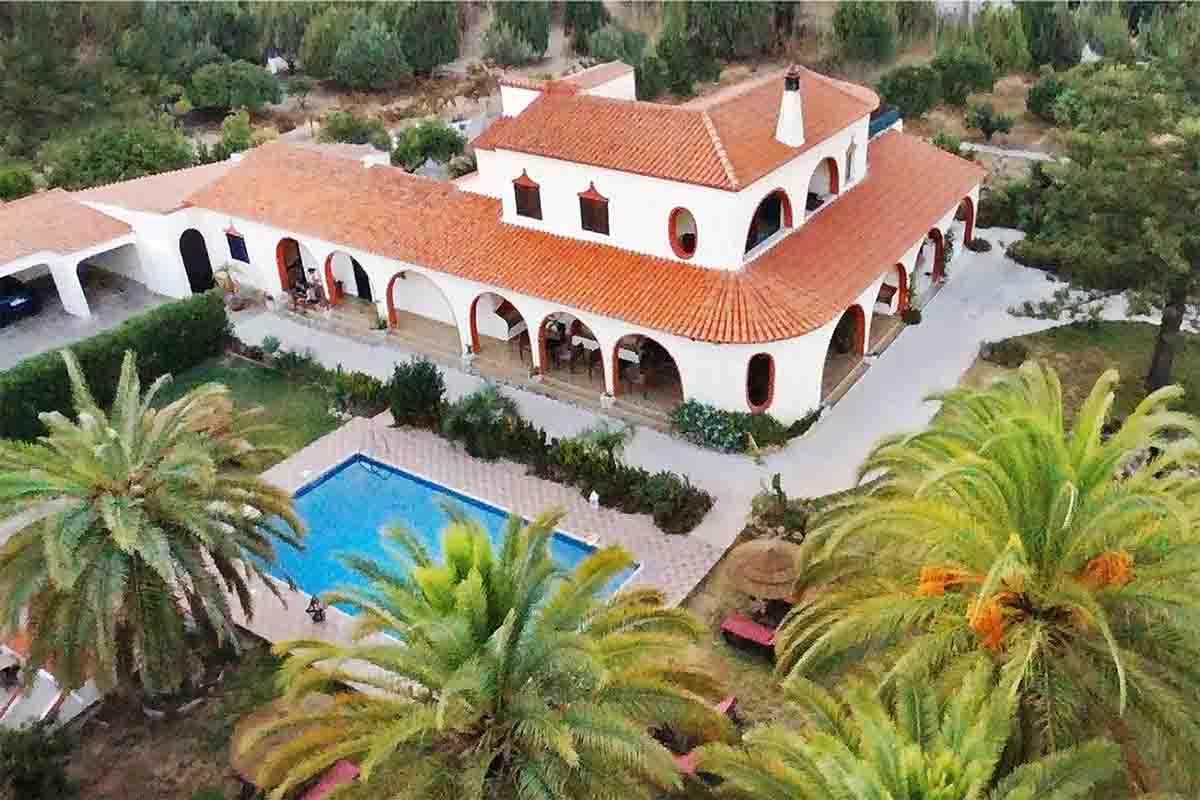 Villa Paraiso birdseye view