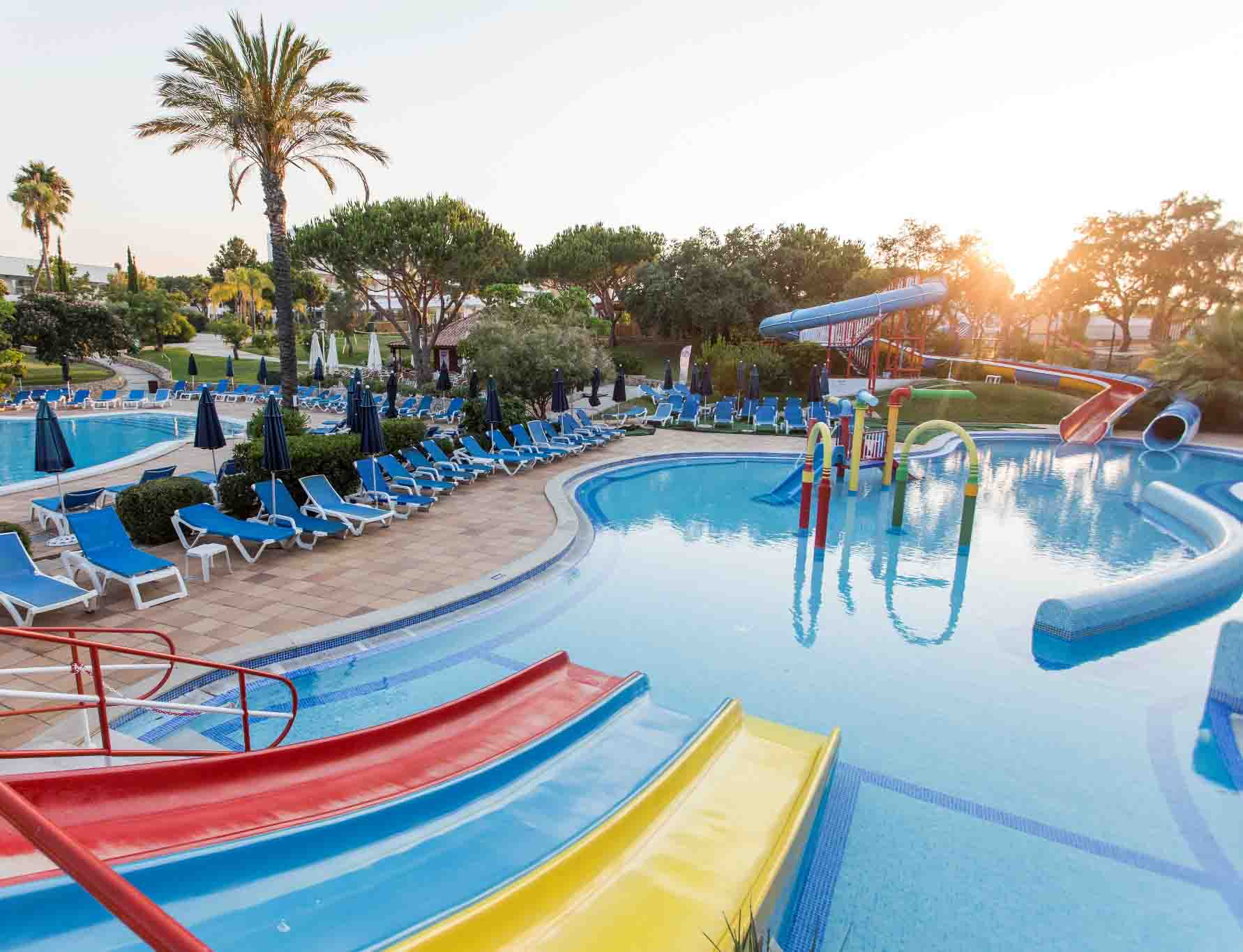 7 Hotels With Waterslides (Or Entire Waterparks) in Portugal
