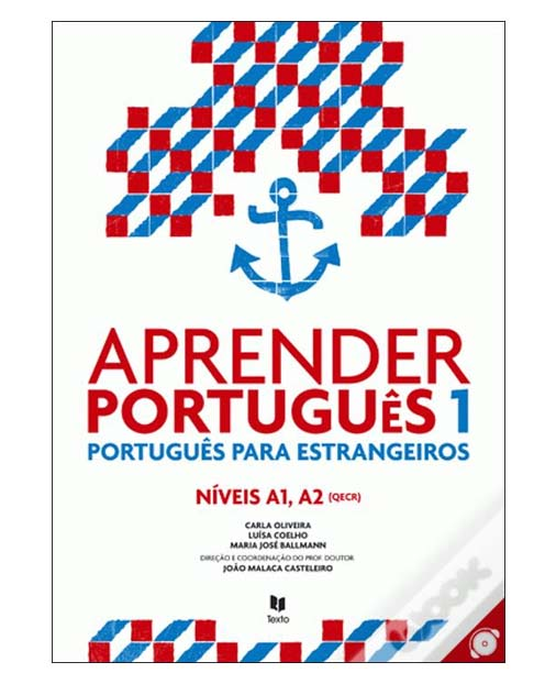aprender portugues 1 texbook cover
