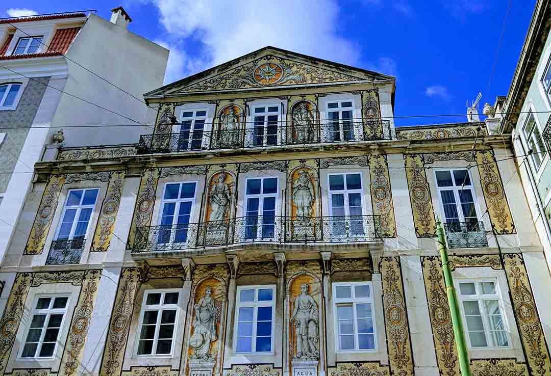 beautiful azulejos in Lisbon