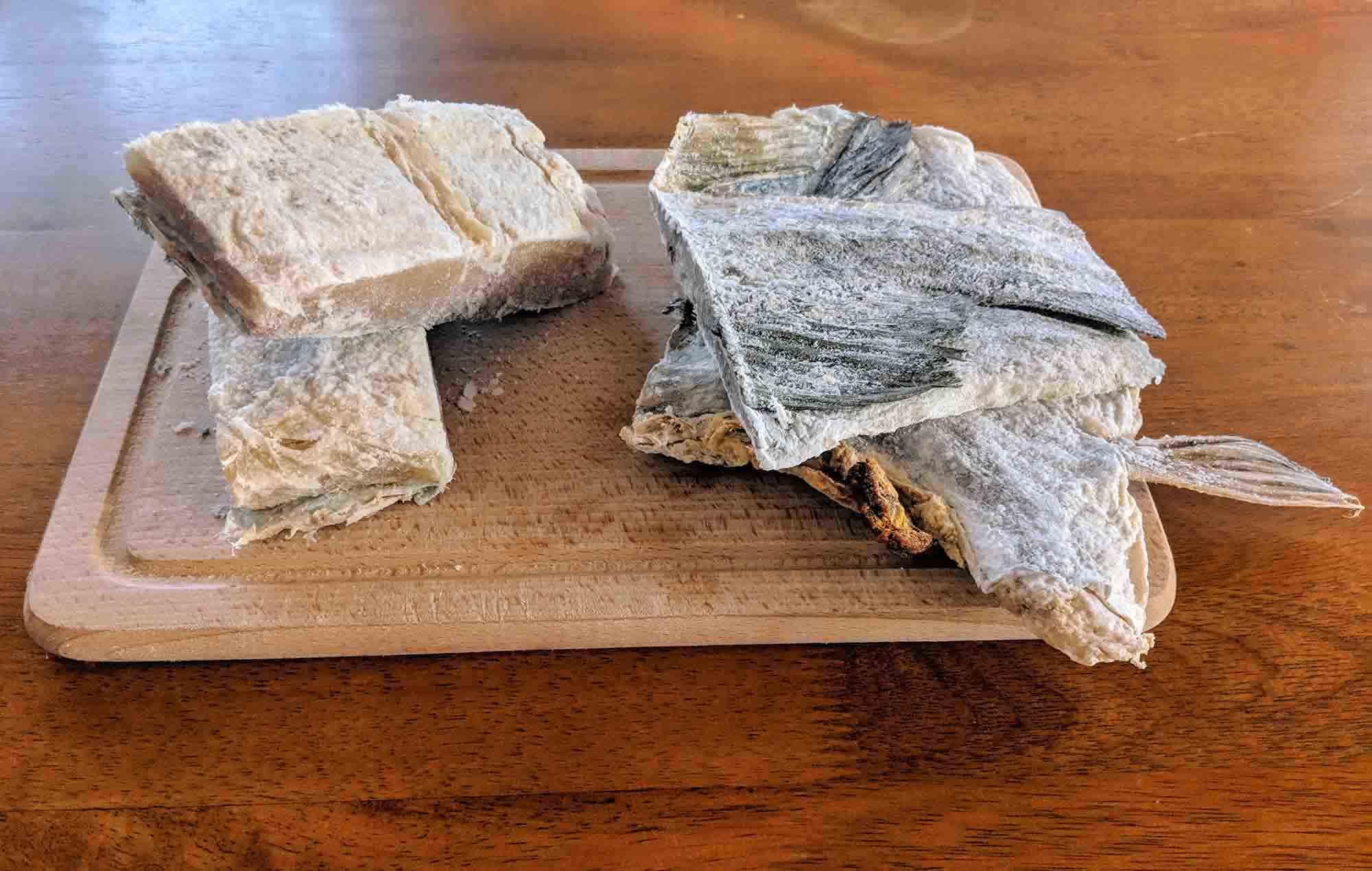 bacalhau pieces