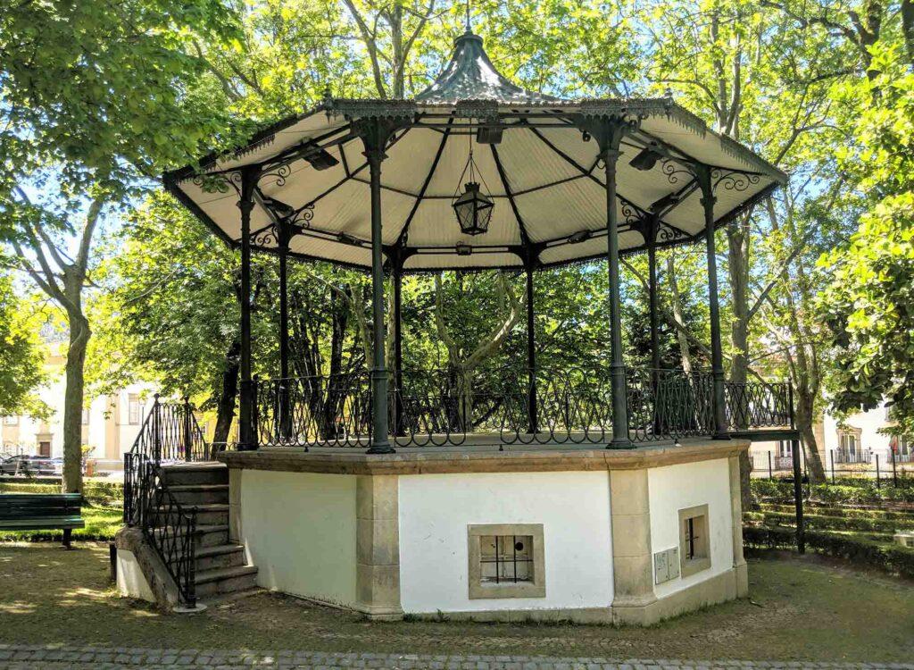 bandstand in Parque Joao Jose da Luz