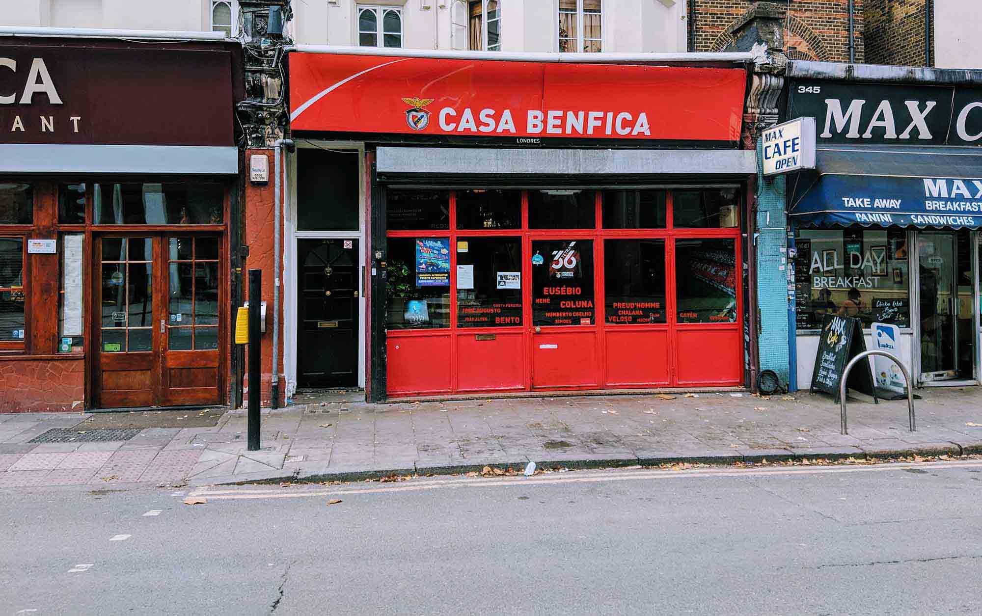Casa Benfica on Wandsworth Road
